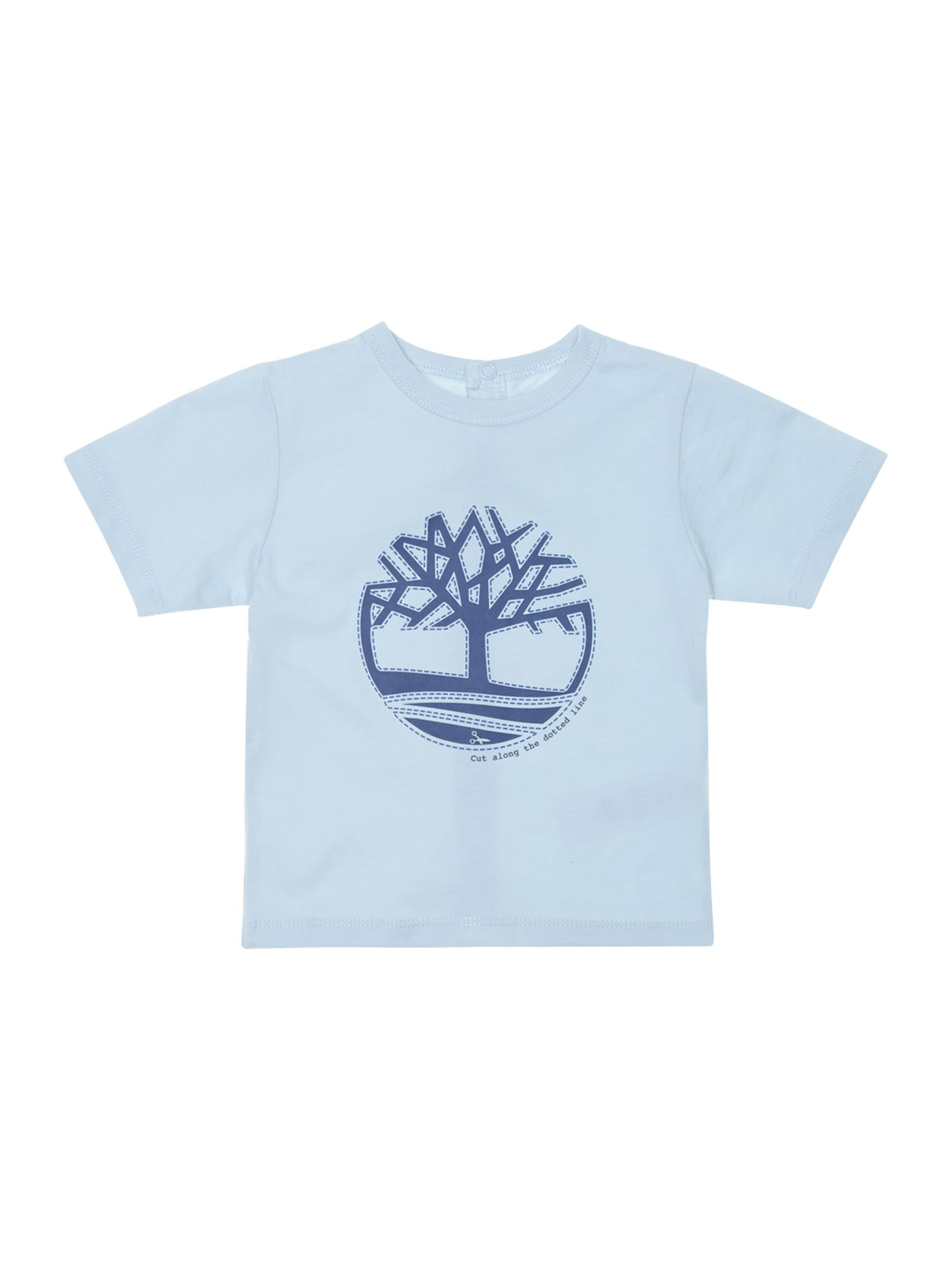 Boy`s short sleeve logo t-shirt