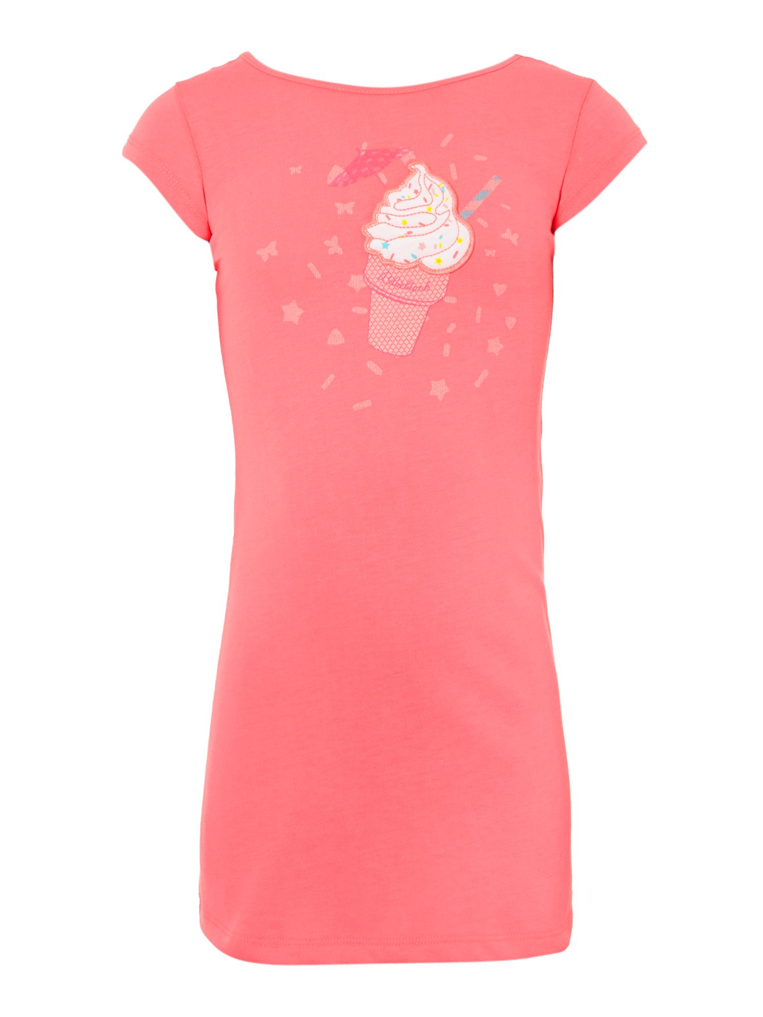 Girl`s short sleeve ice cream dress