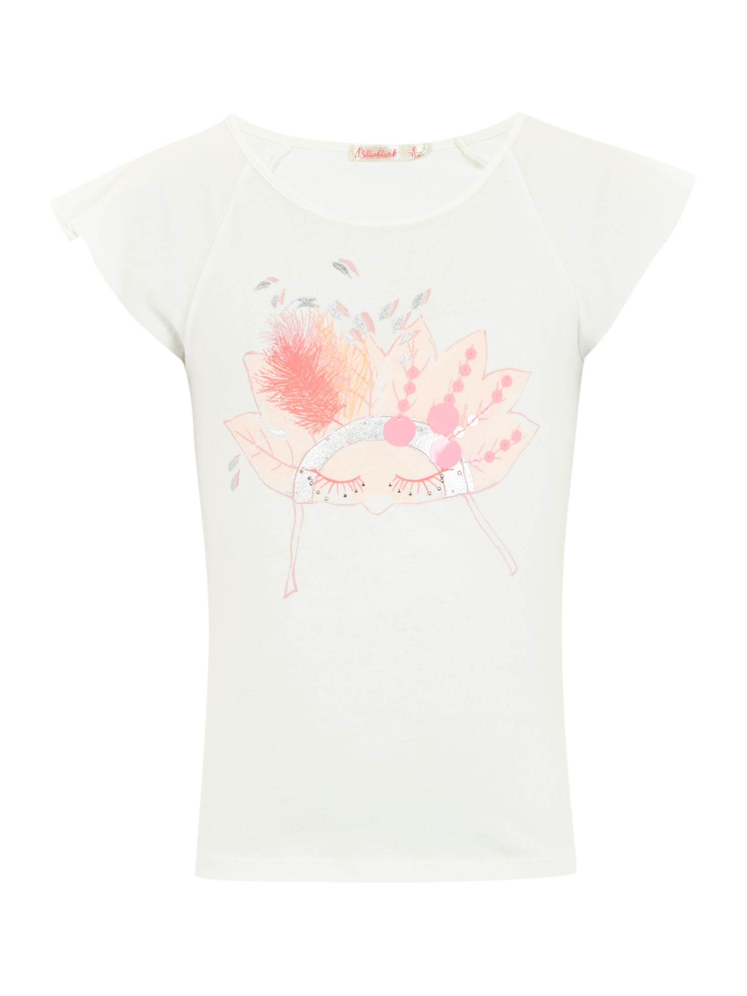 Girl`s jersey short sleeve t-shirt