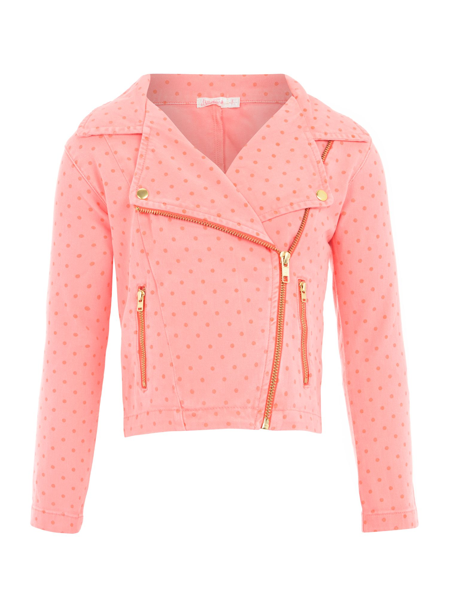 Girl`s drill long sleeve jacket