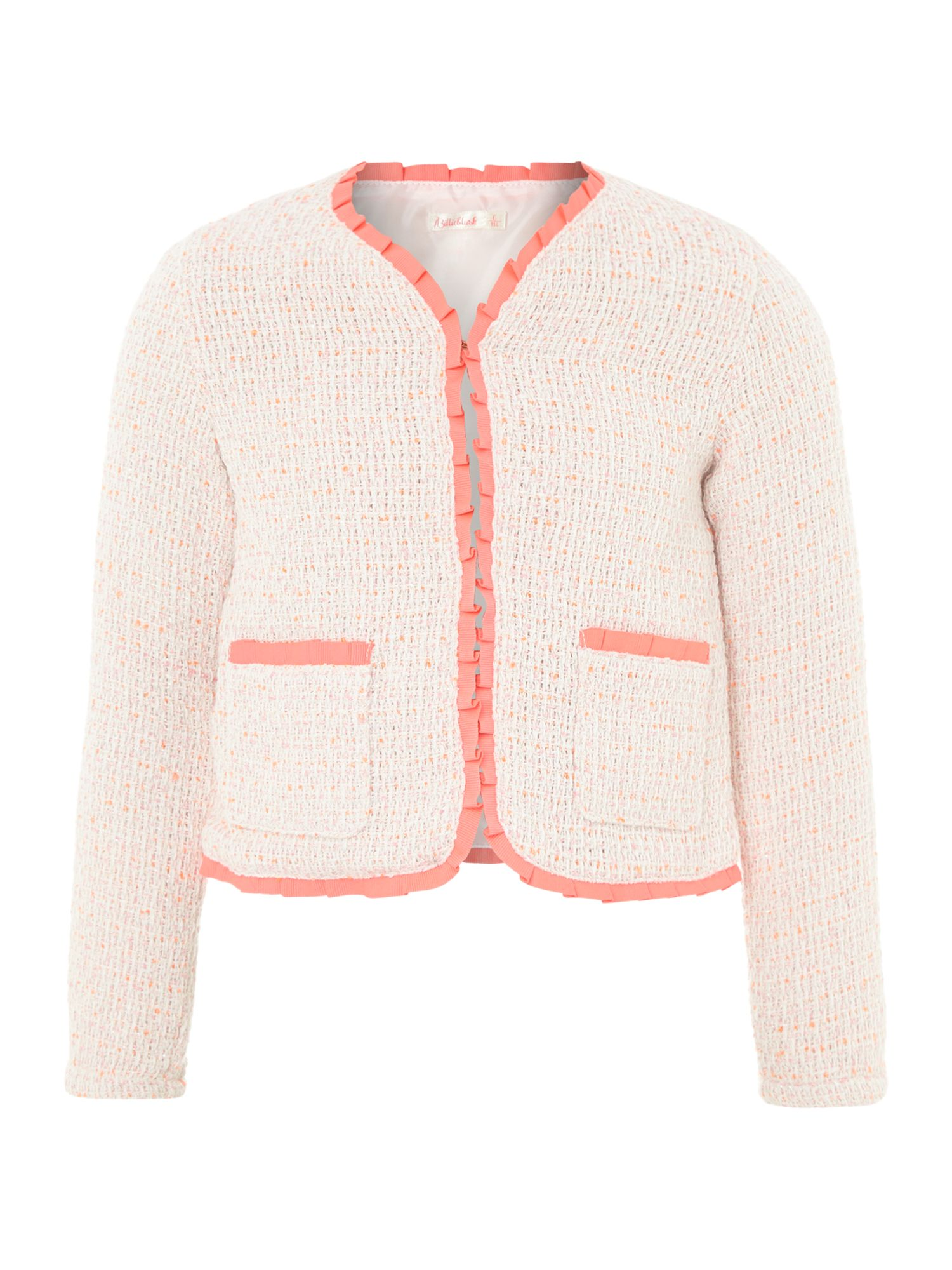 Girl`s tweed jacket
