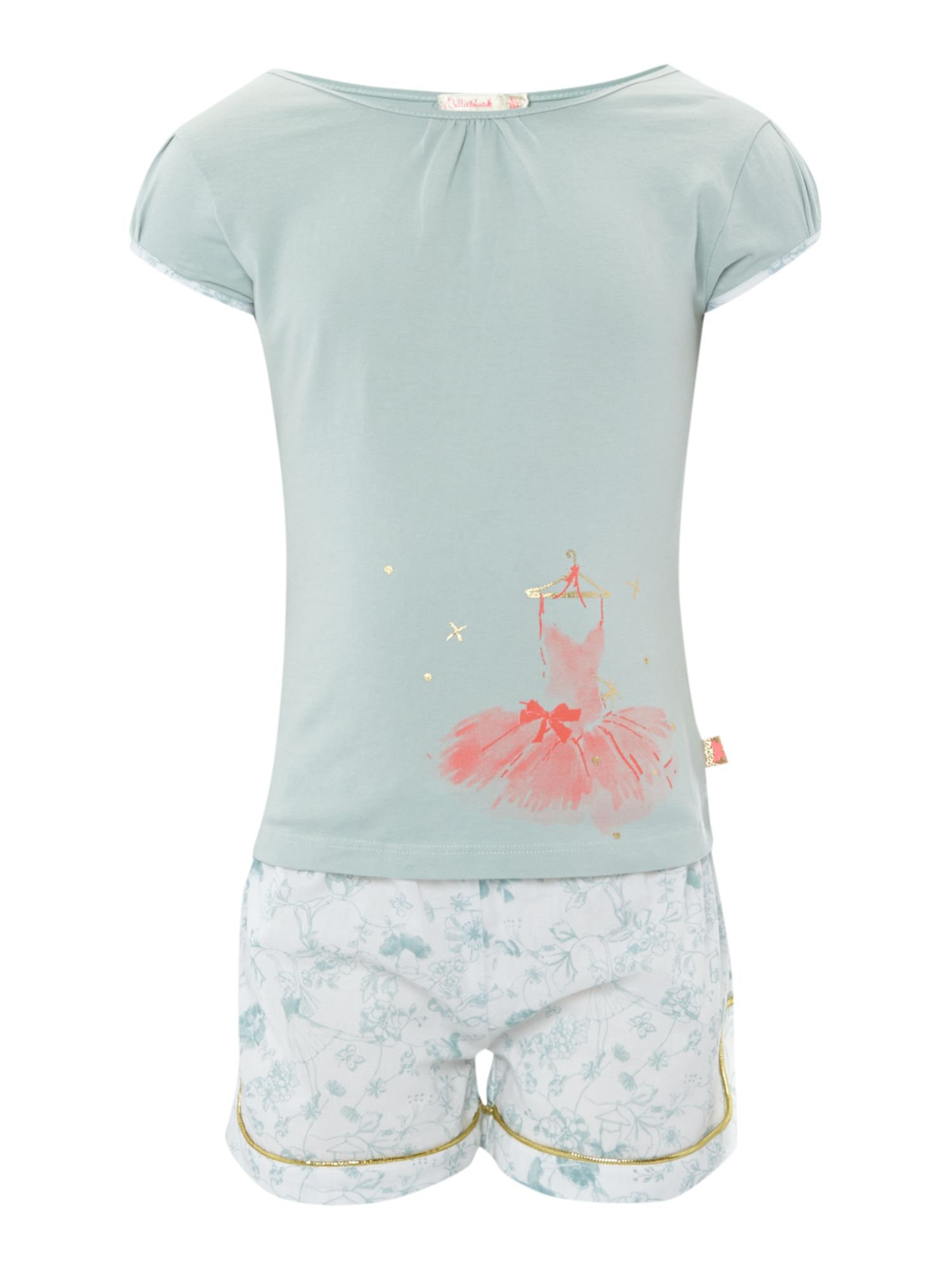 Girl`s short pyjama set