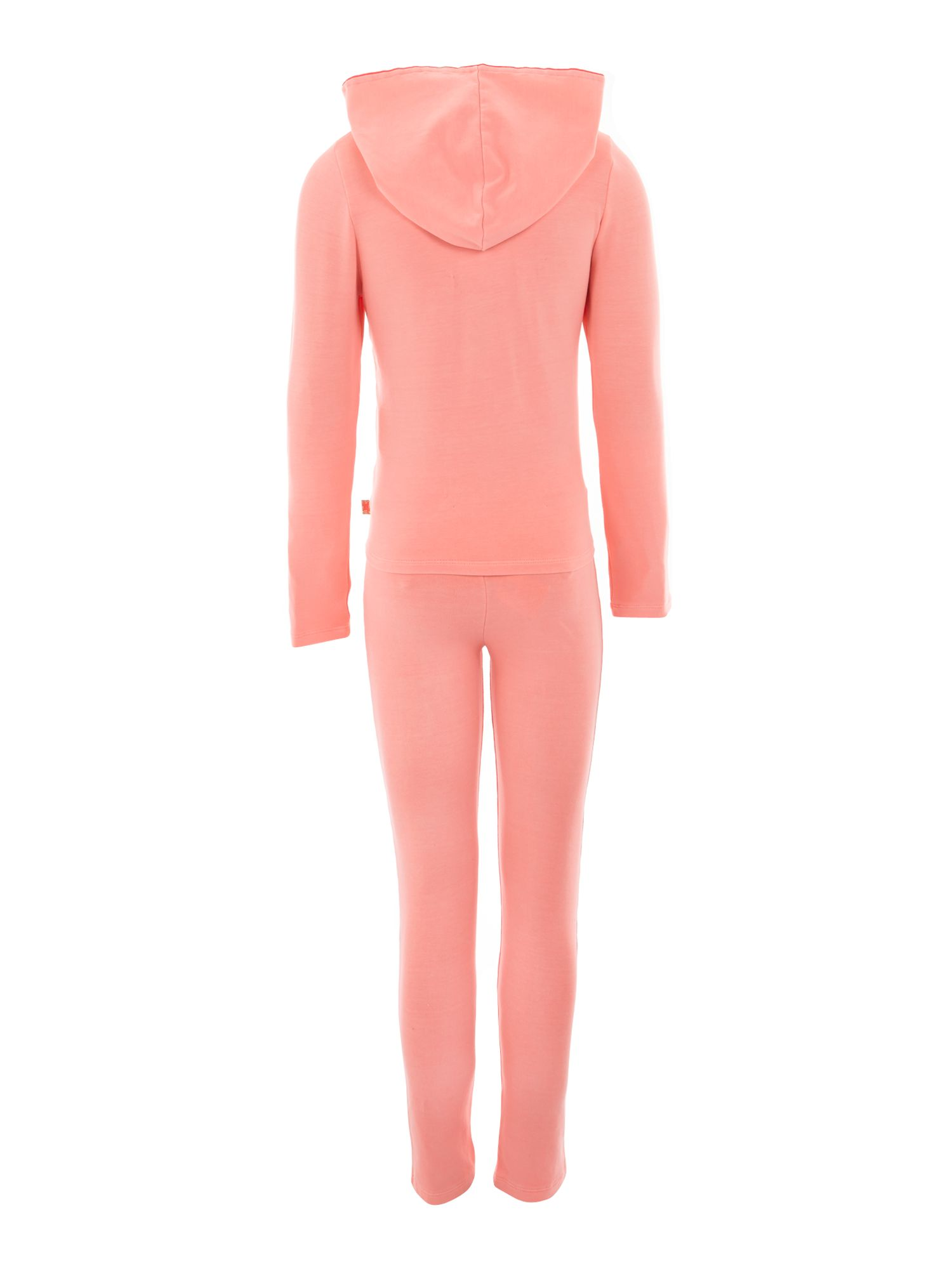 Girl`s fleece jogging suit