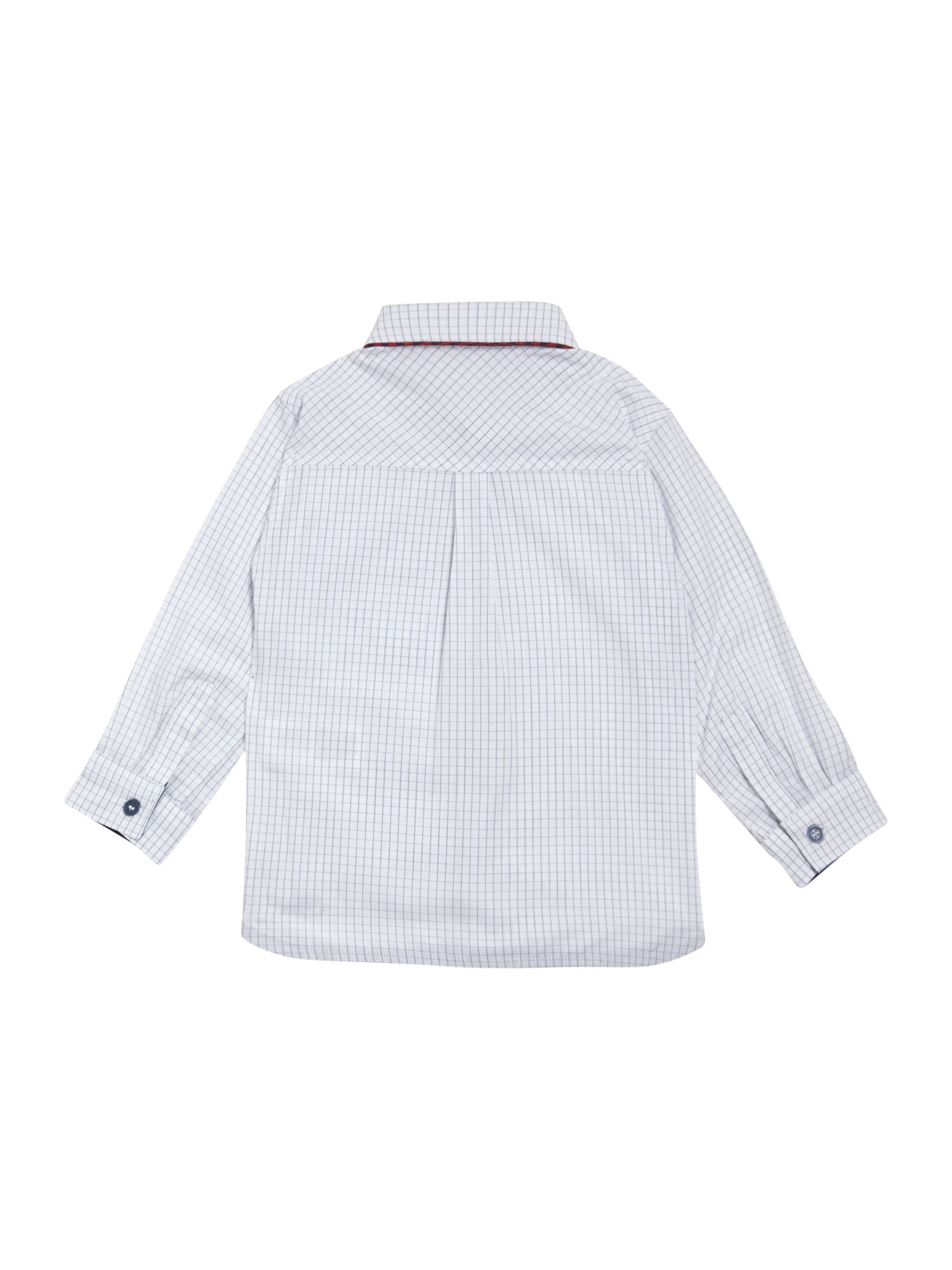 Boy`s long sleeve check shirt