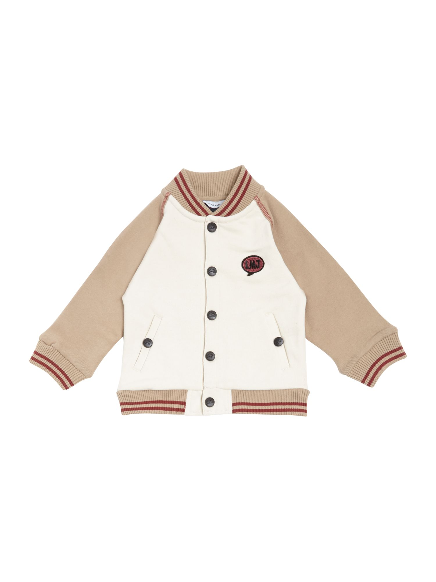 Boy`s baseball style jacket