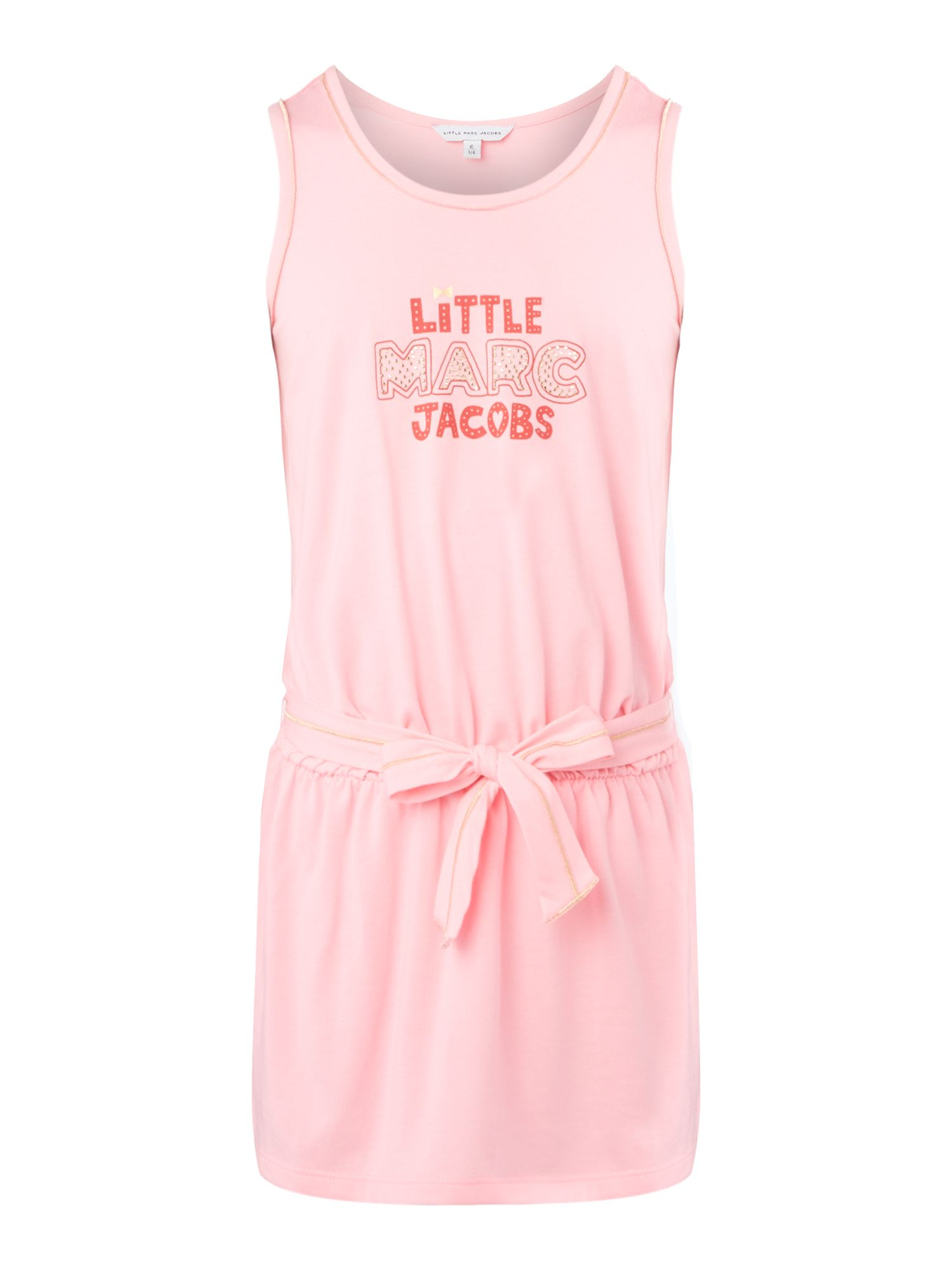 Girls logo dress