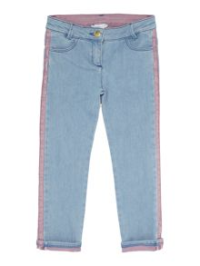 Girls side detail jeans