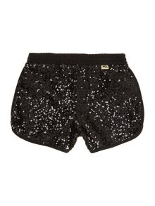 Girl`s sequined shorts