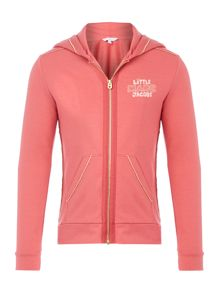 Girls zip up hoodie