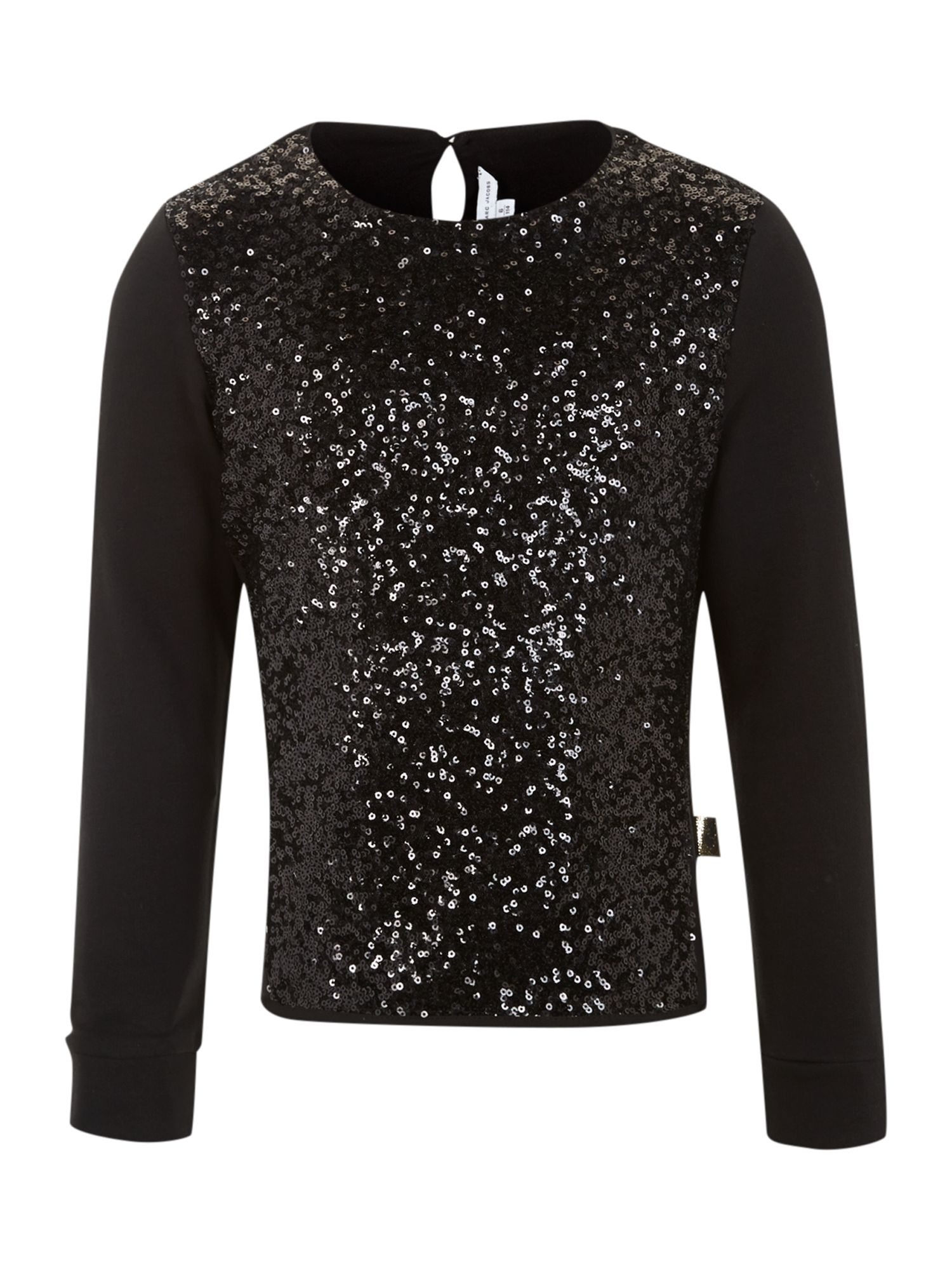 Girl`s sequin long sleeve jumper