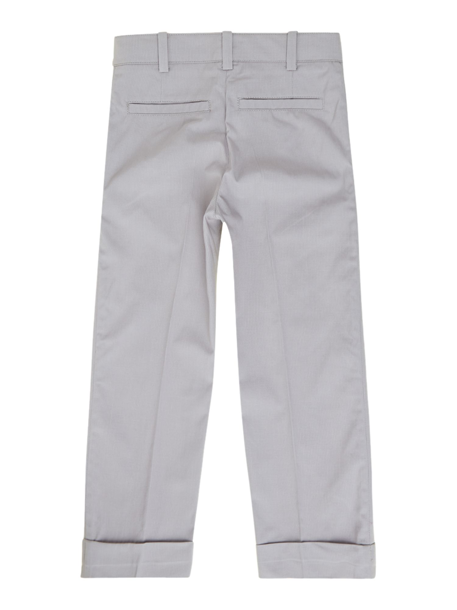 Boy`s twill suit trousers