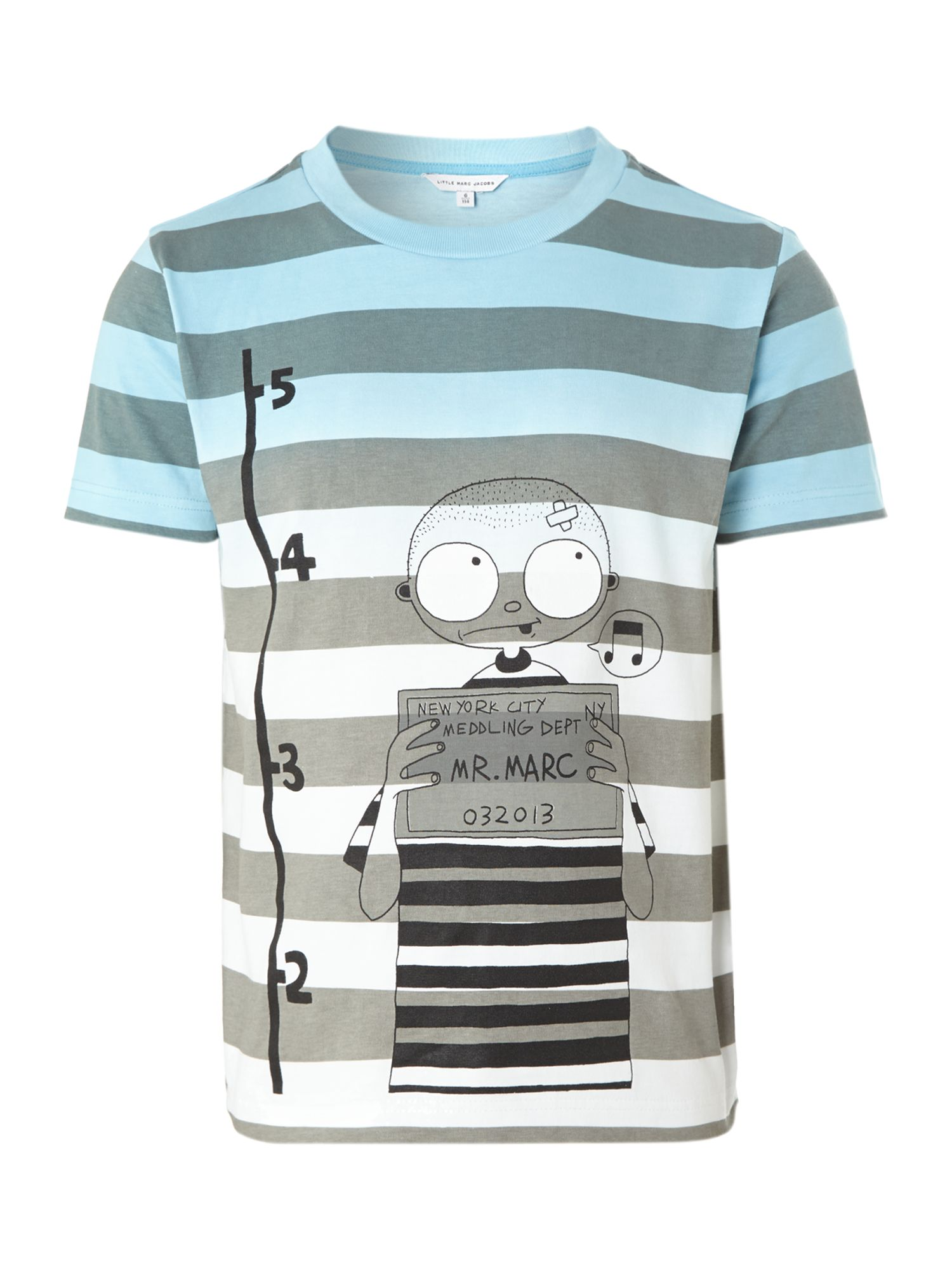 Boy`s striped short sleeve t-shirt