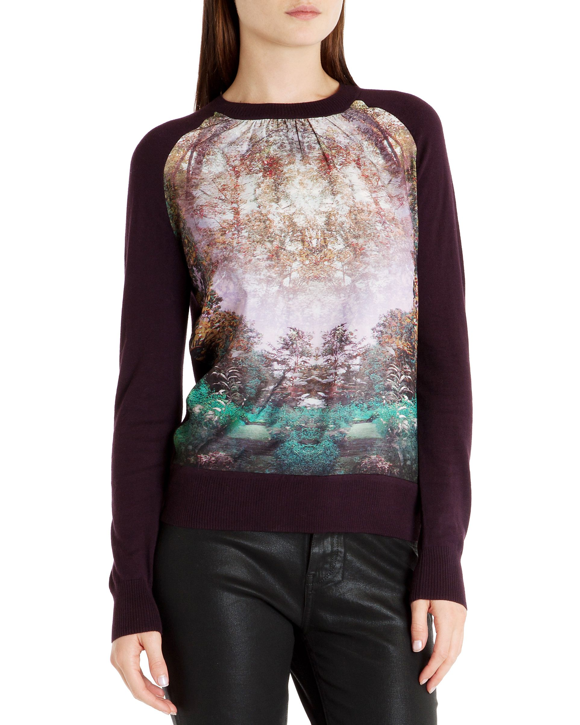Rayna Magical mist print sweater