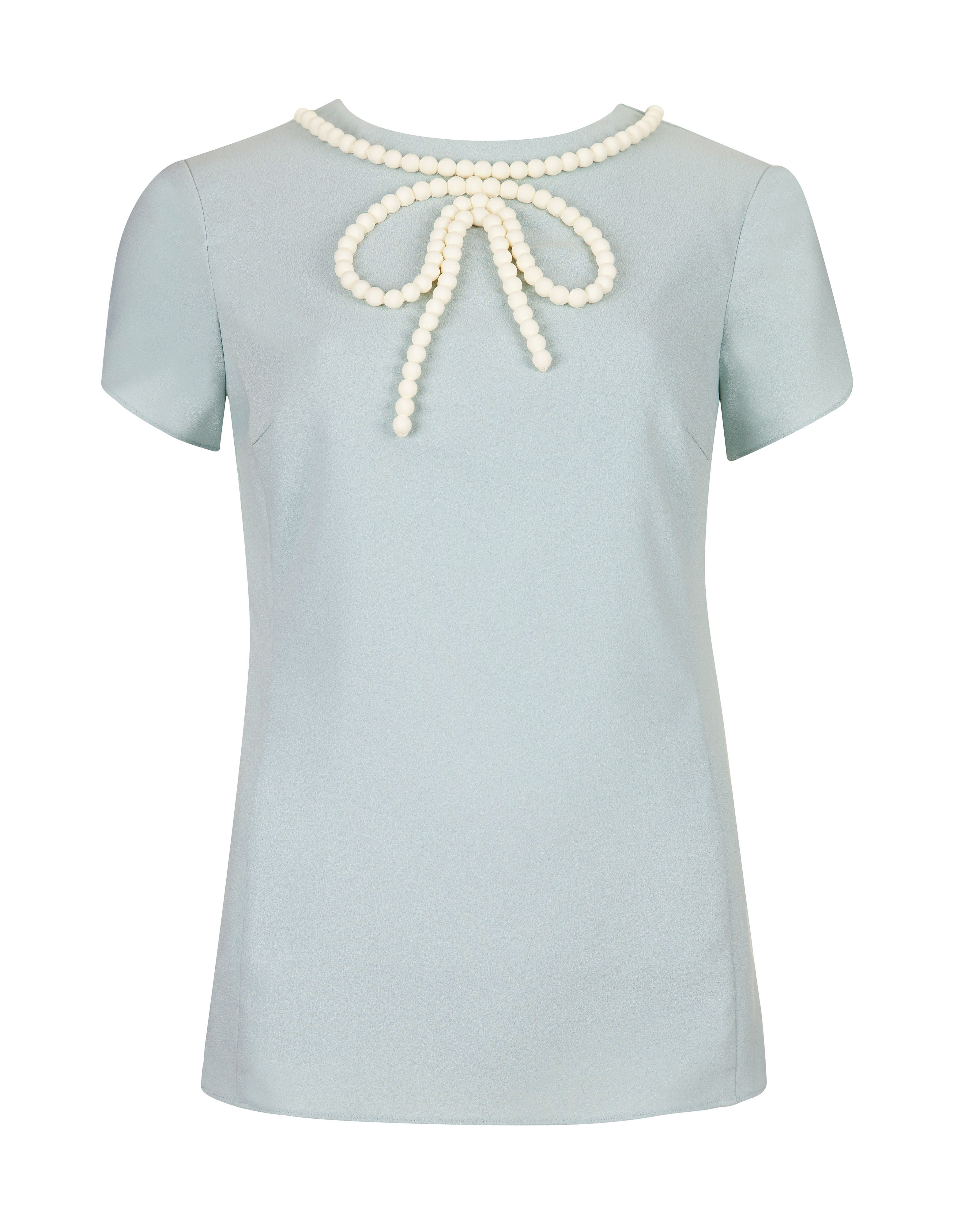 Lanete Beaded bow top