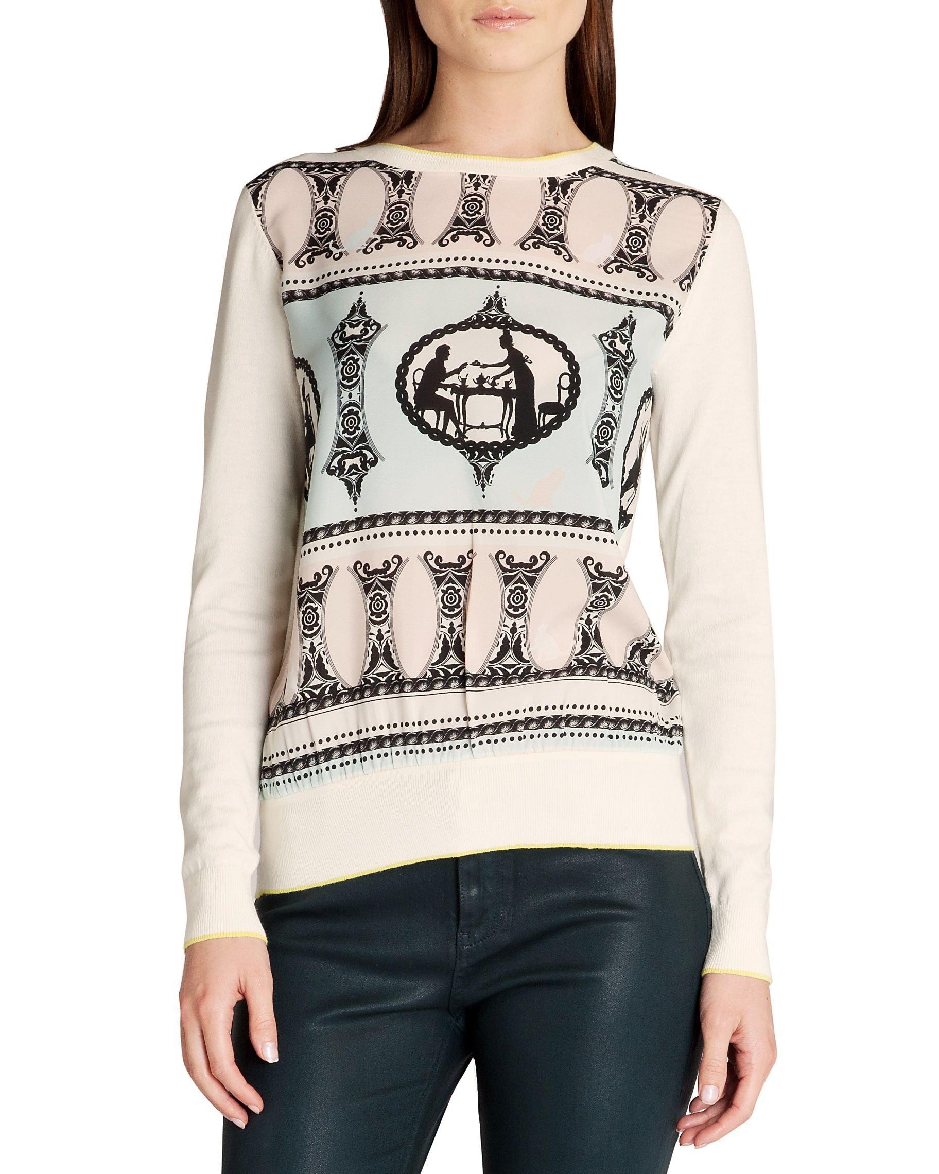 Aiesha Printed sweater