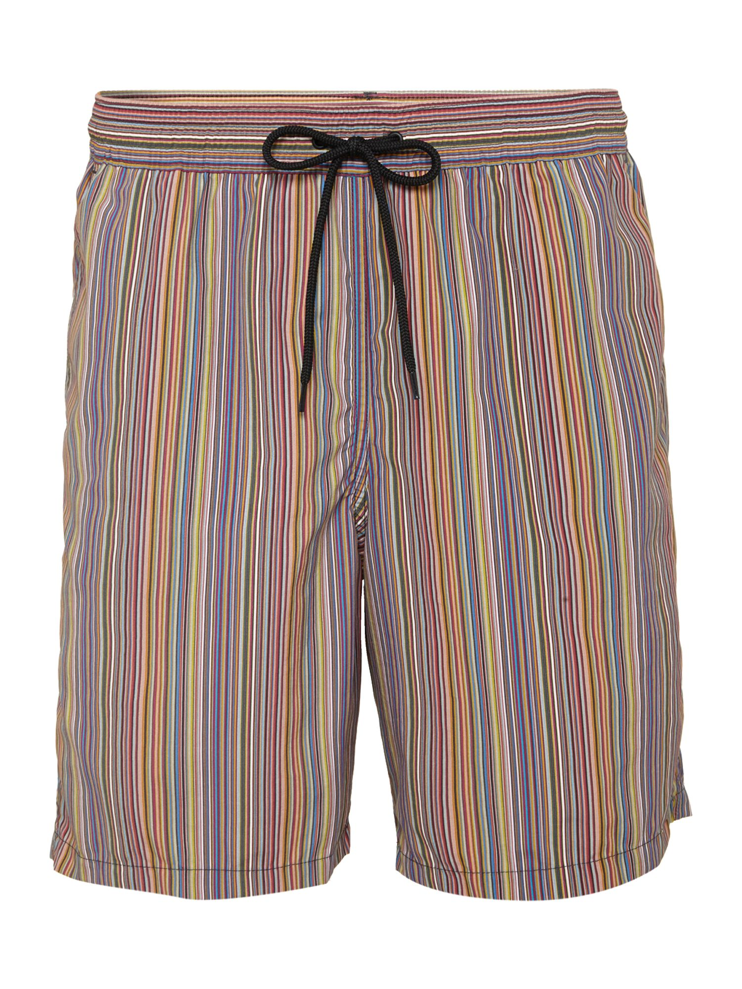 Multistripe long swim short