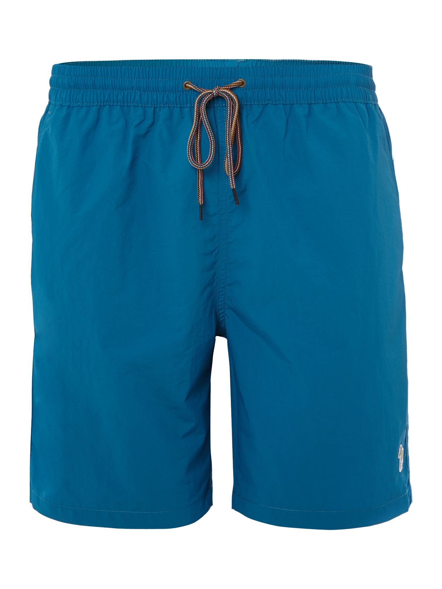 Solid classic long swim short