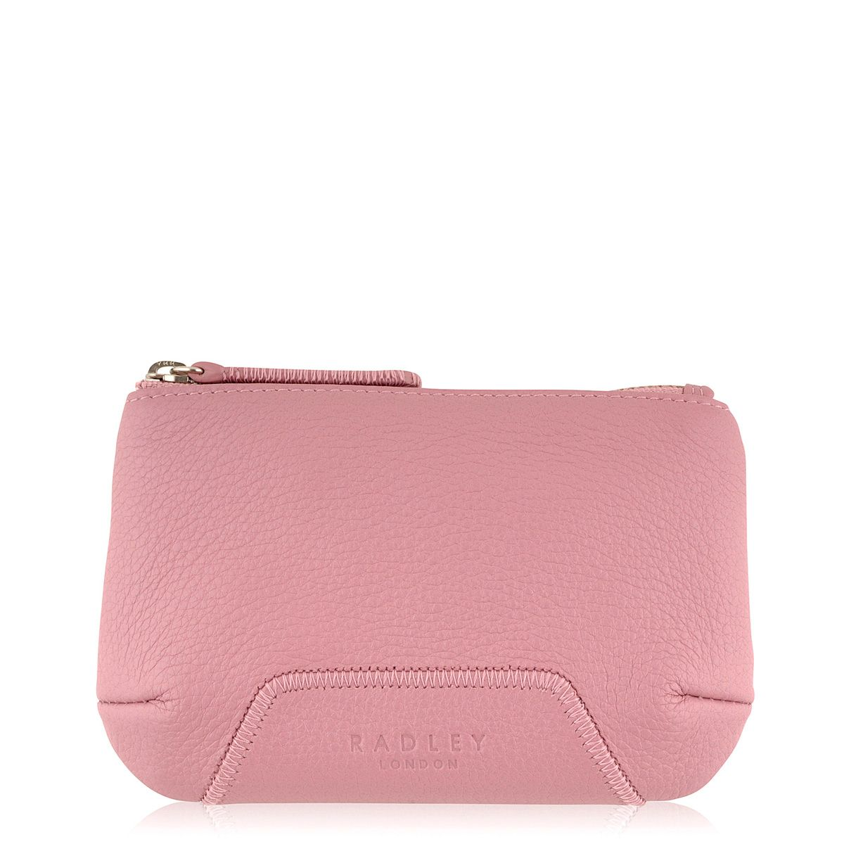 Pink medium zip pouch