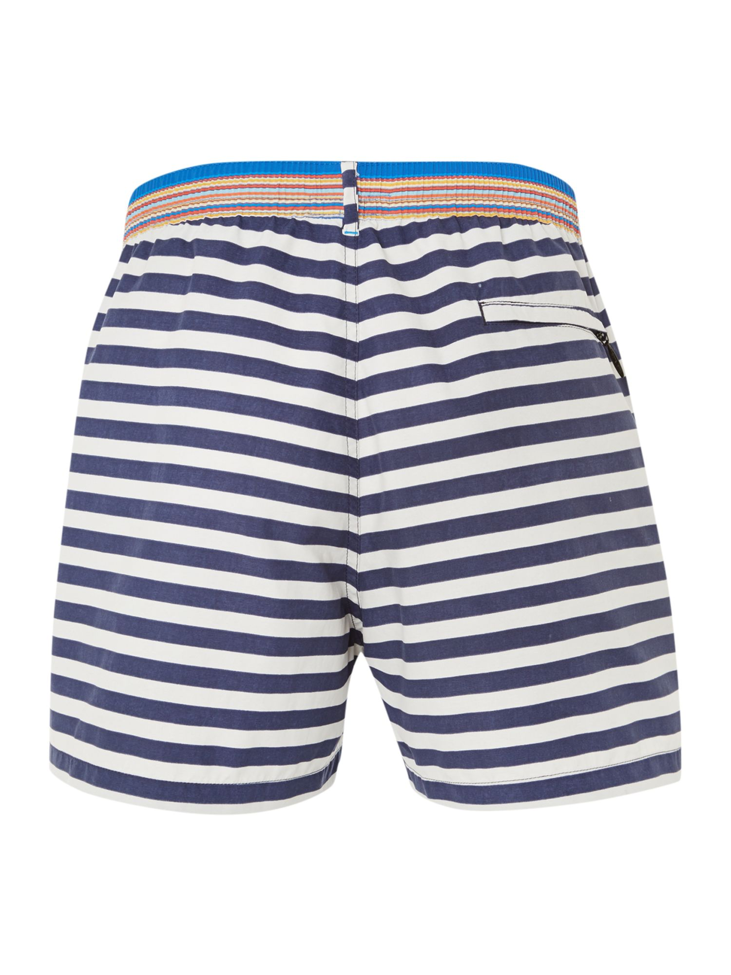Nautical stripe swim short