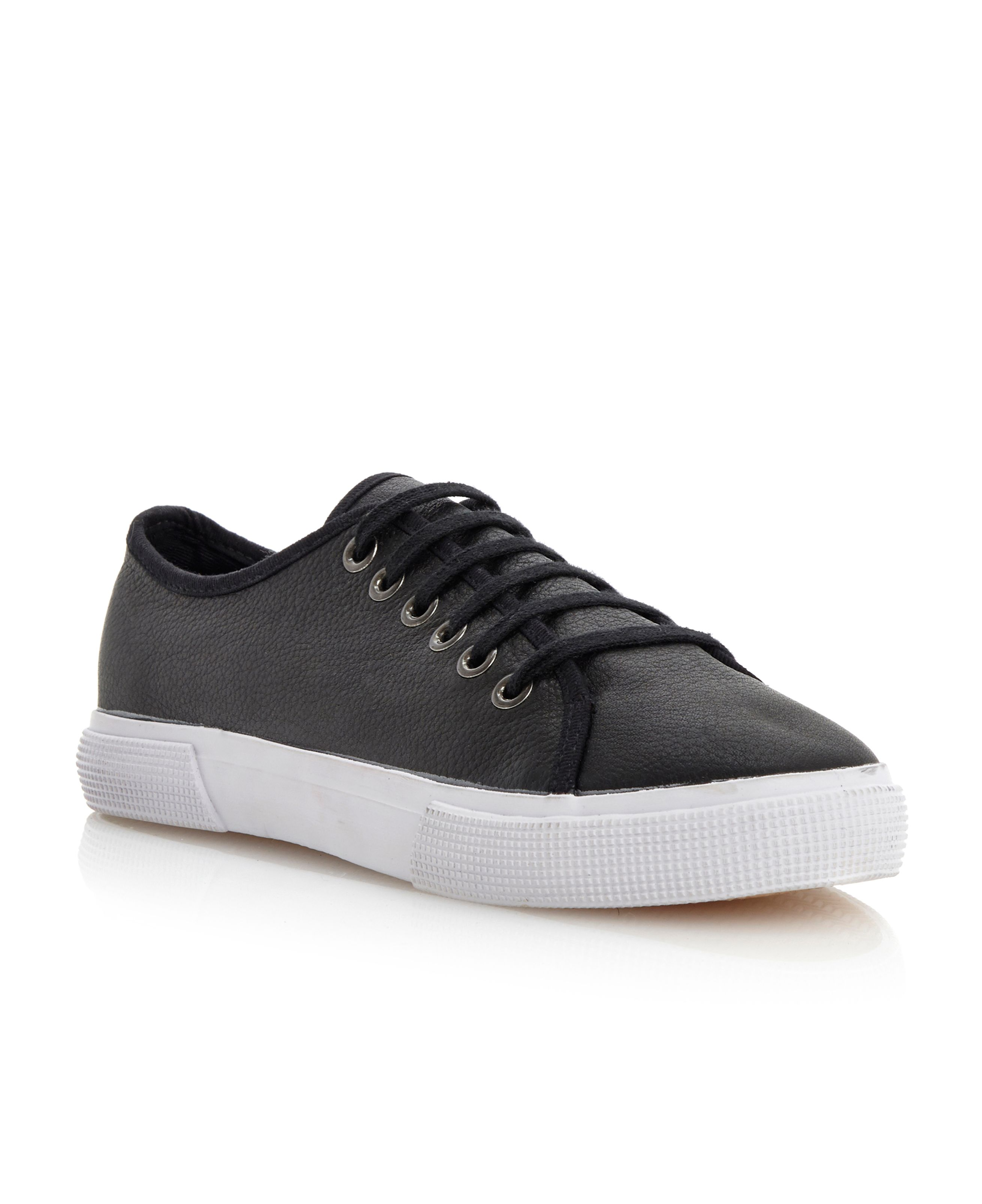 Potter flatform lace up trainer shoes