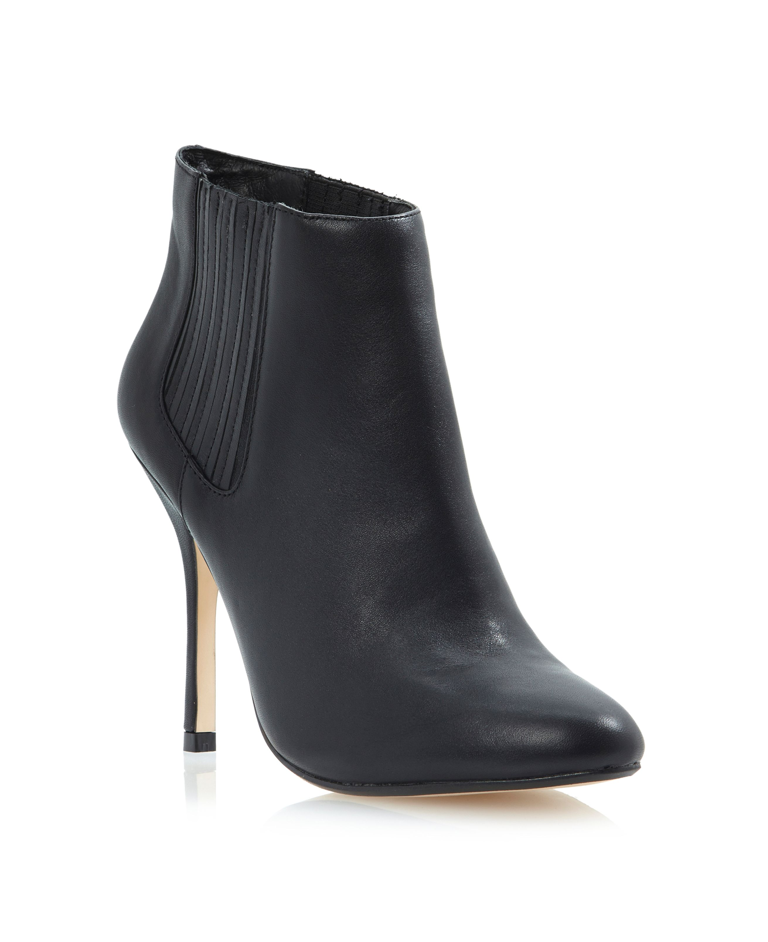 Neesh high heeled chelsea boots