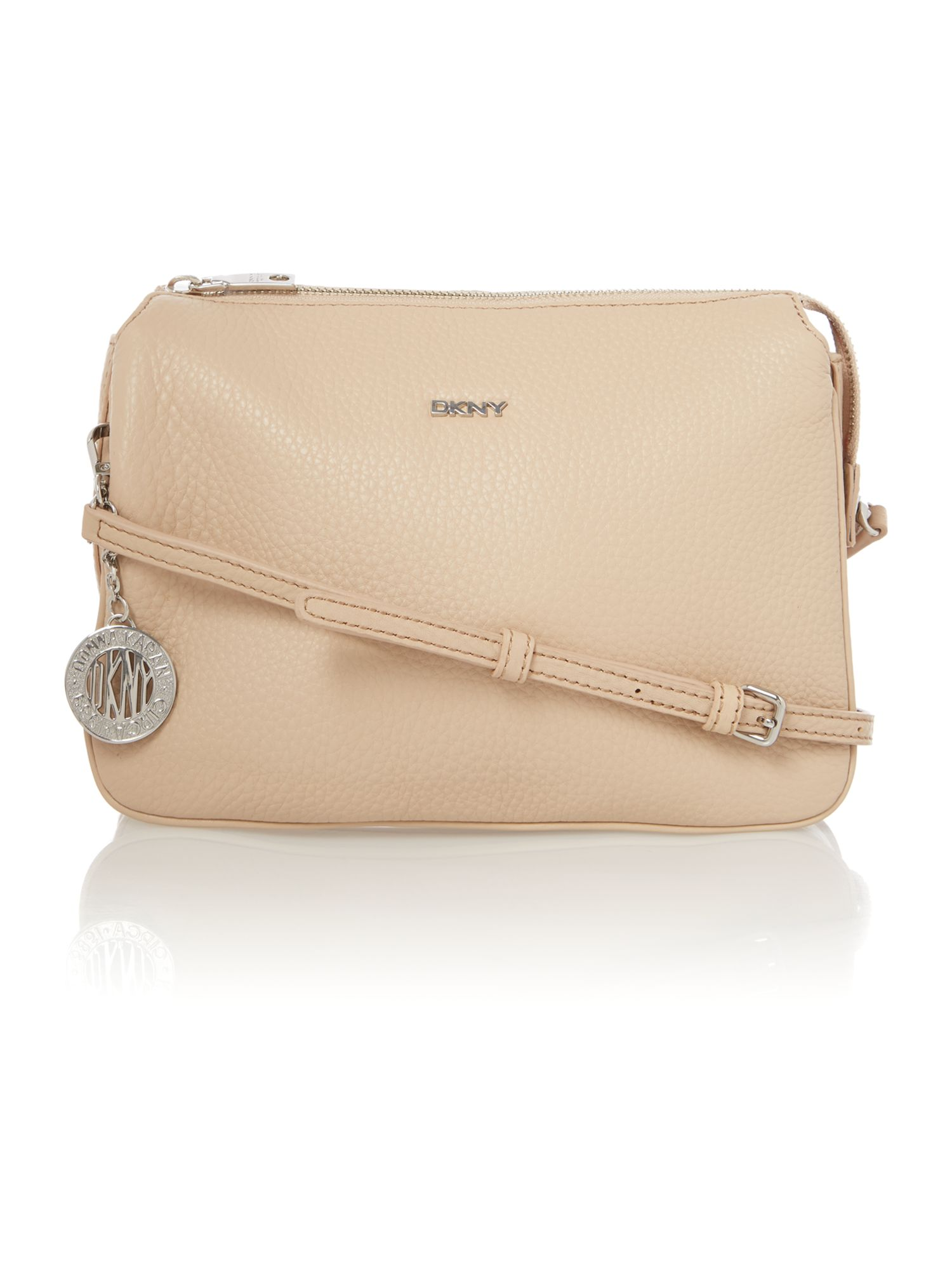 Tribeca neutral crossbody bag