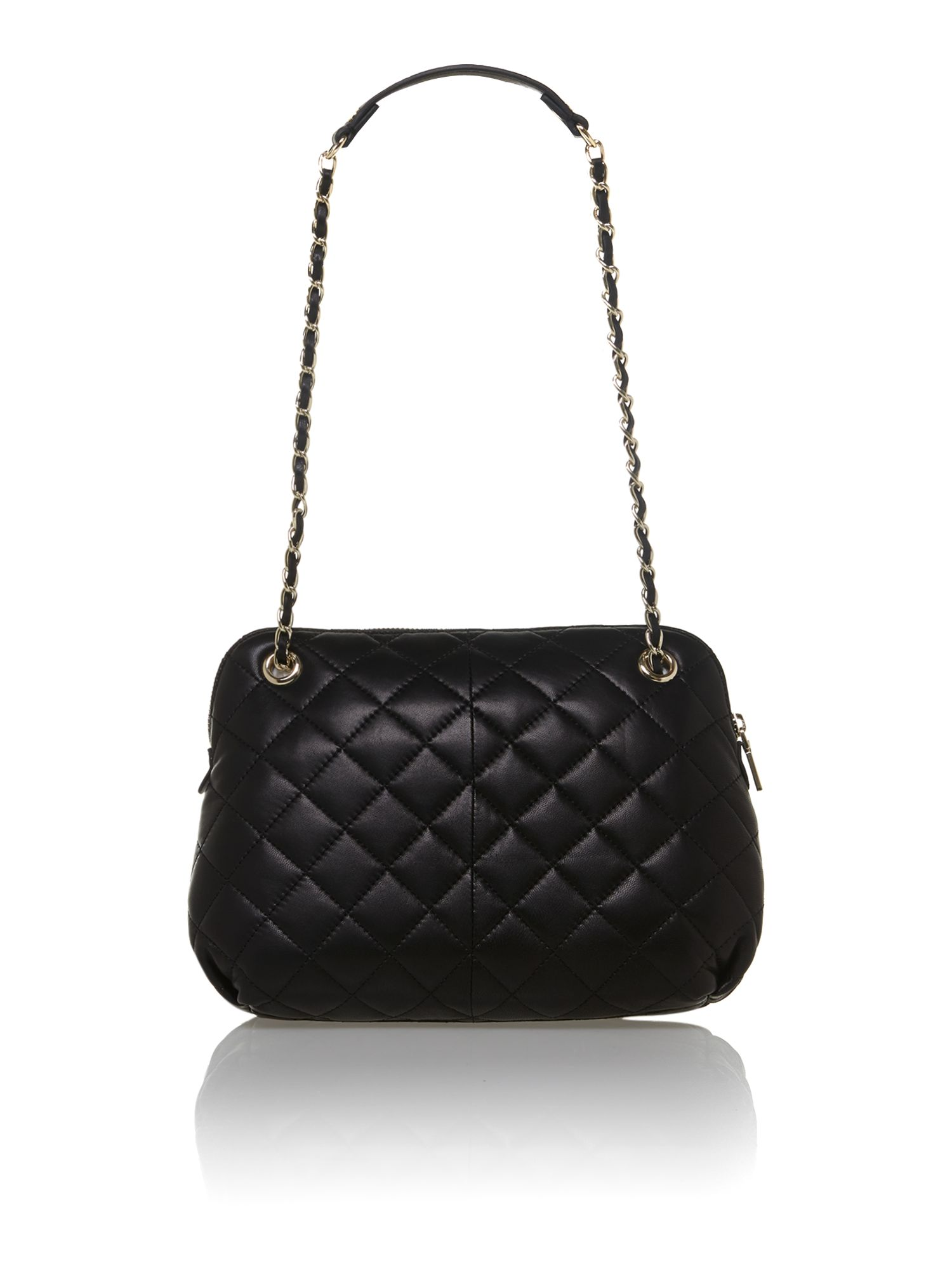 Quilted Nappa black crossbody bag
