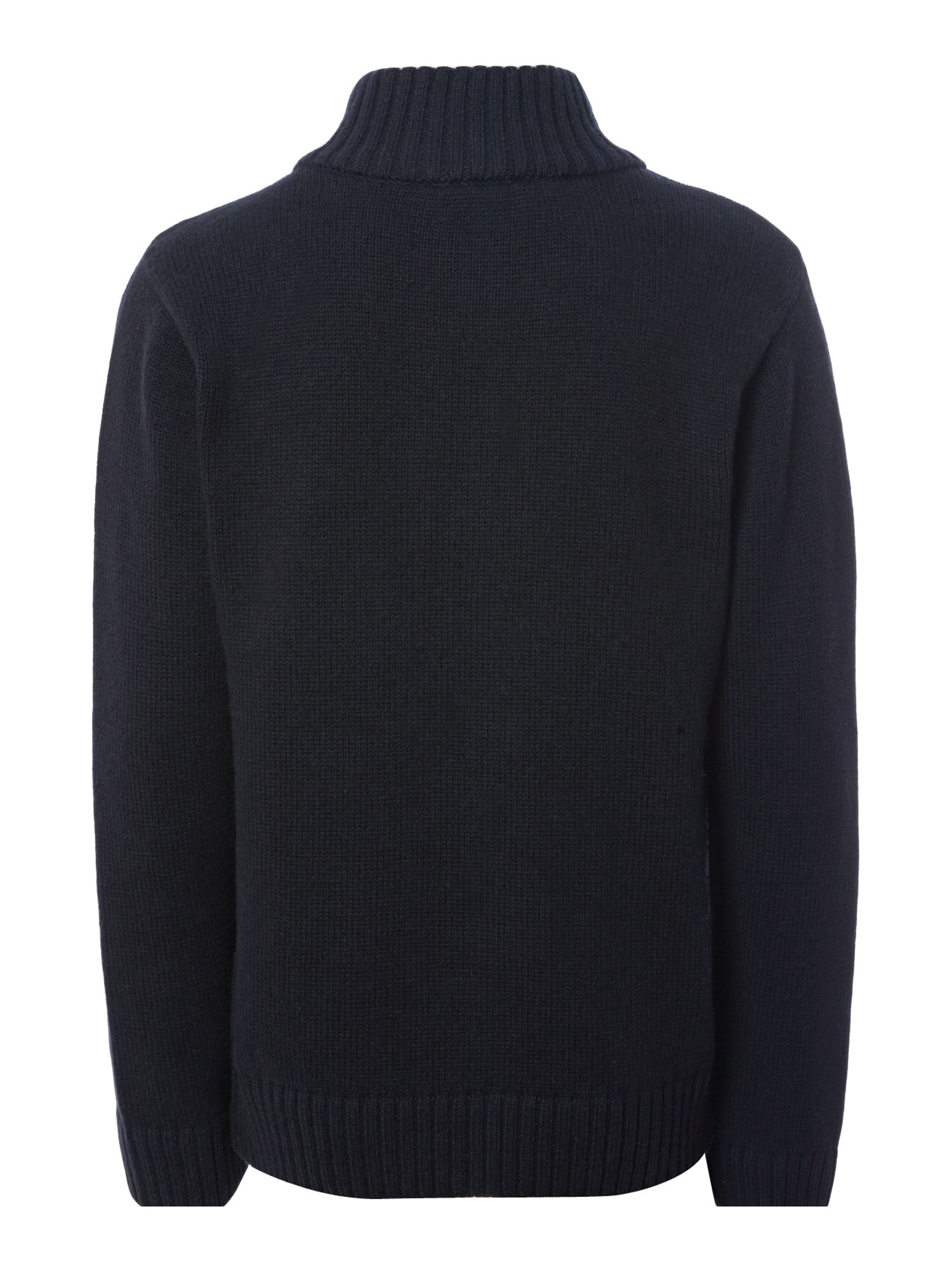 Boy`s wool knitted long sleeve sweater