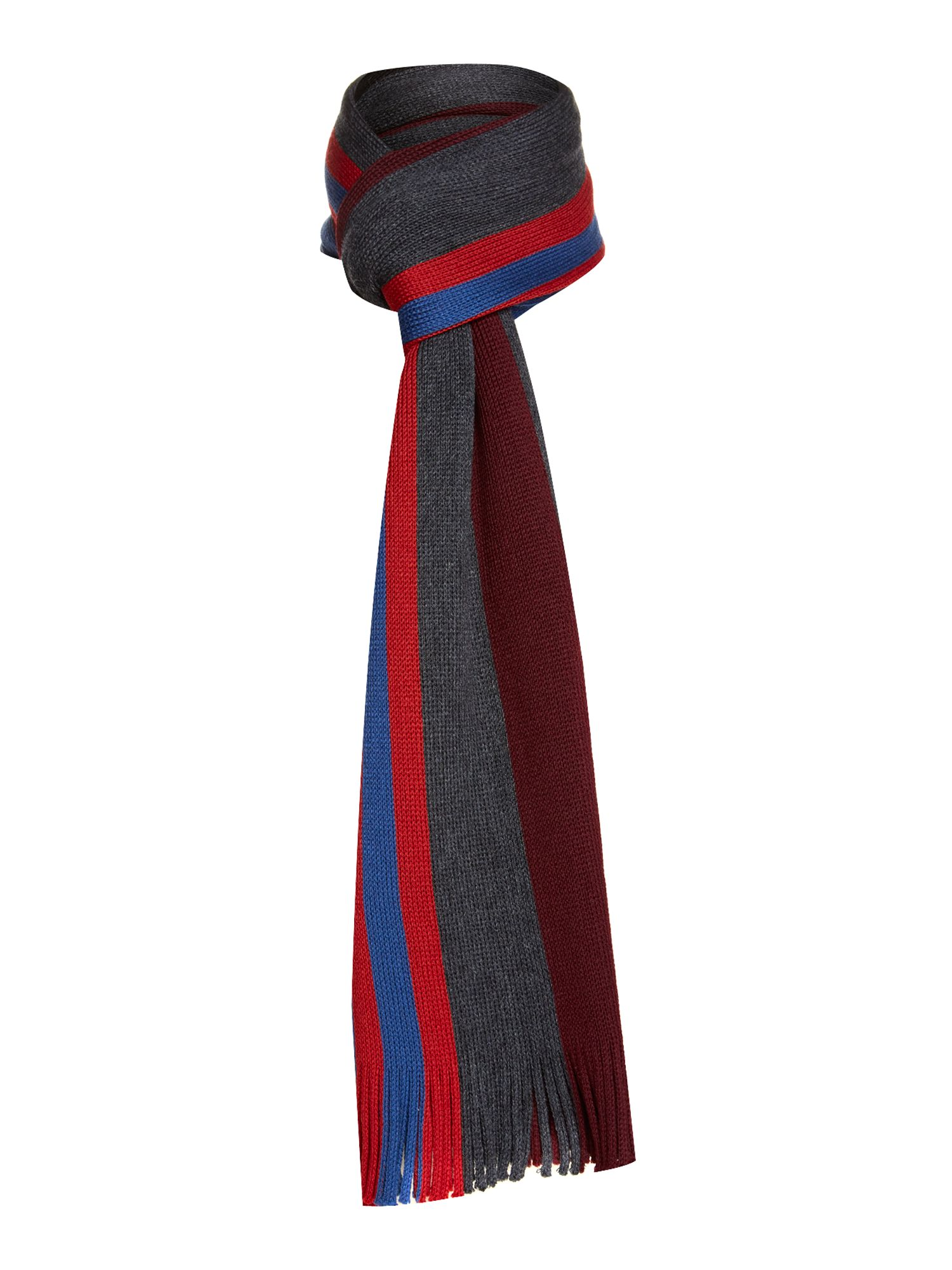 Fitchy retro stripe scarf