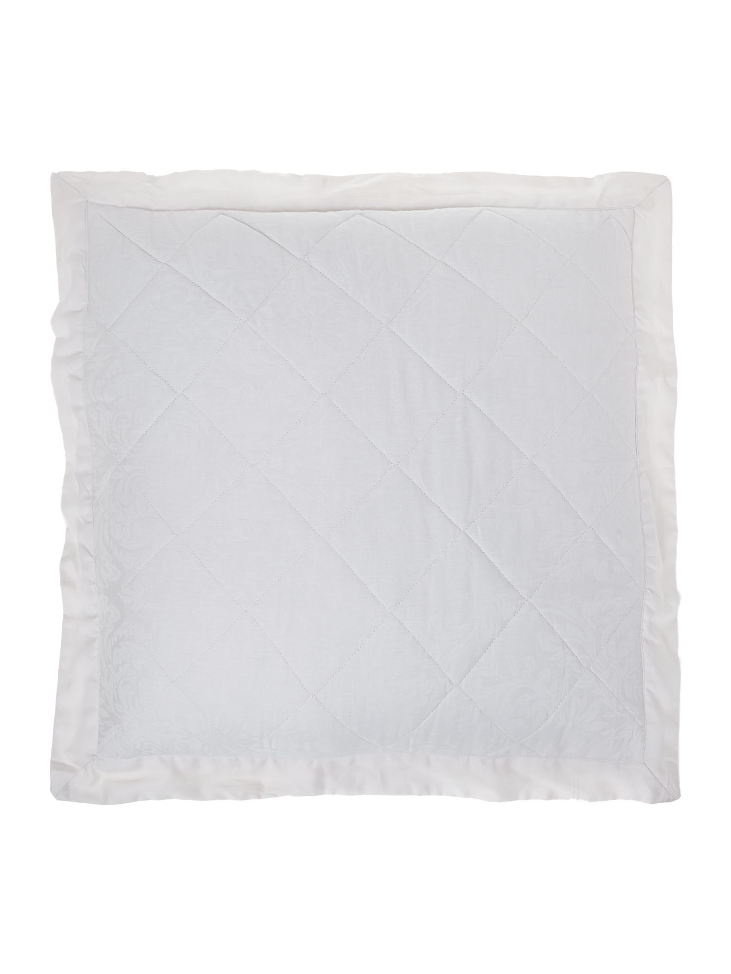 Lhc damask euro pillow sham cream