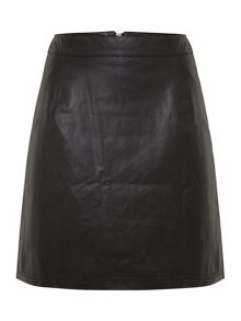 PU Mini Skirt