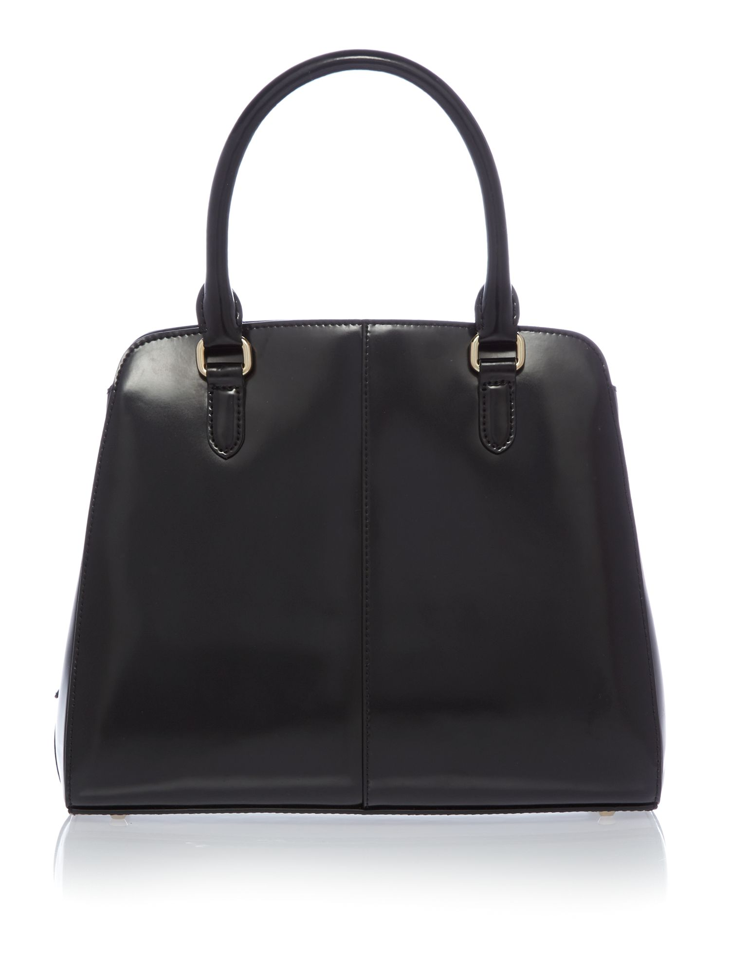 Hudson black large tote bag