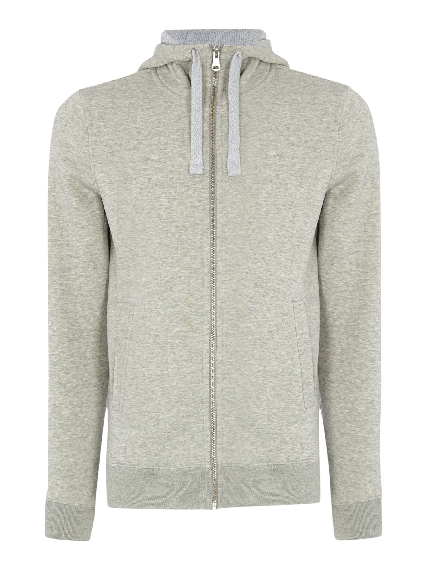 Soft sweat zip up hoody