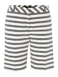 Giudy striped shorts