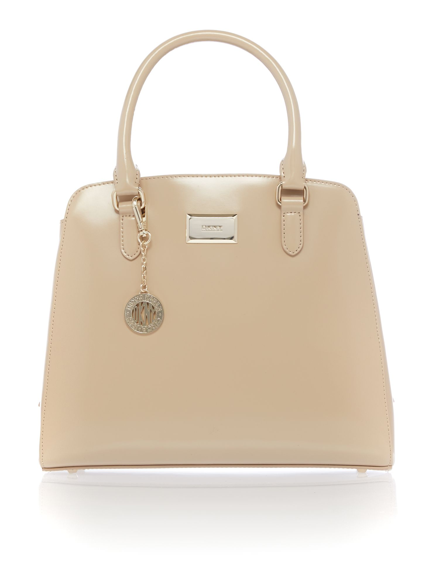 Hudson neutral large tote bag