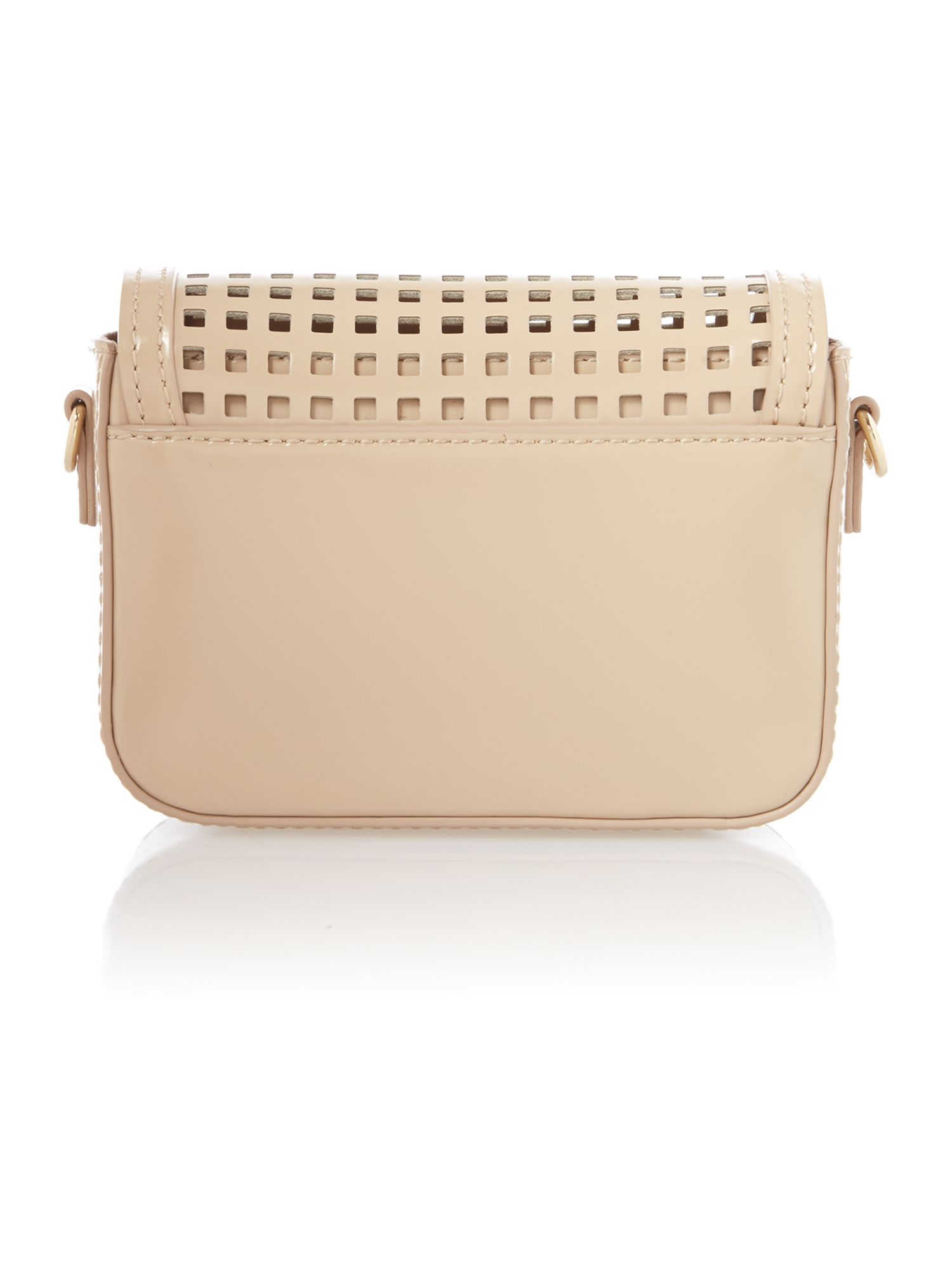 Hudson neutral mini crossbody bag