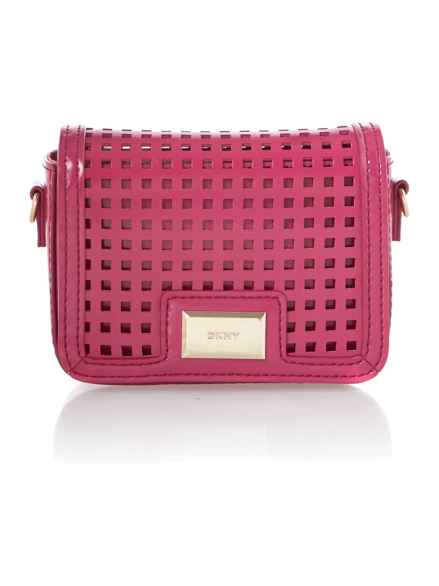 Hudson pink mini crossbody bag