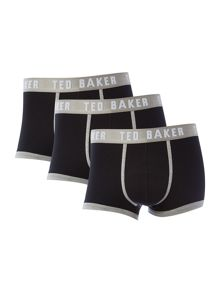 Ted Baker 3 pack plain trunk