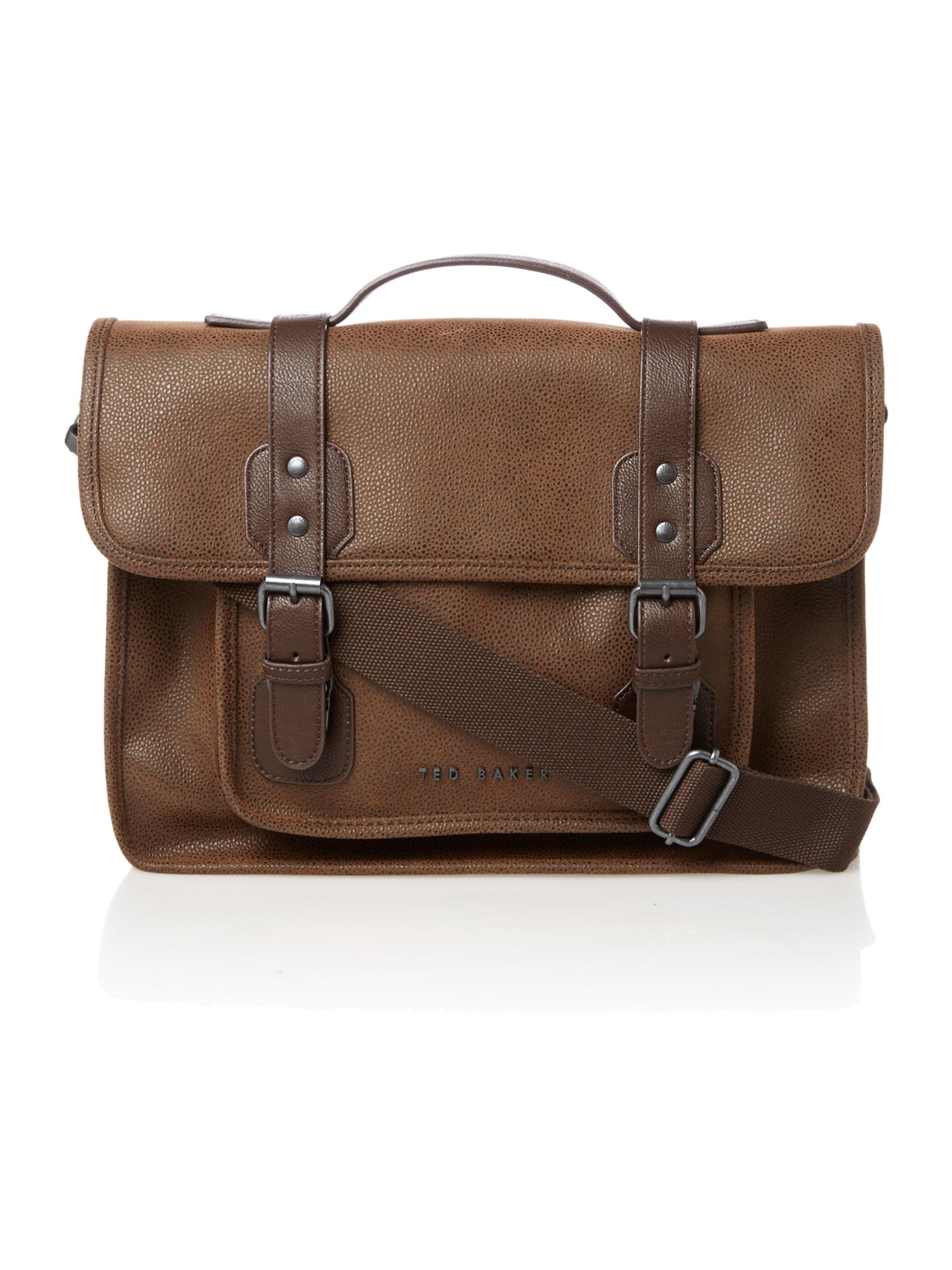 Scotch grain satchel