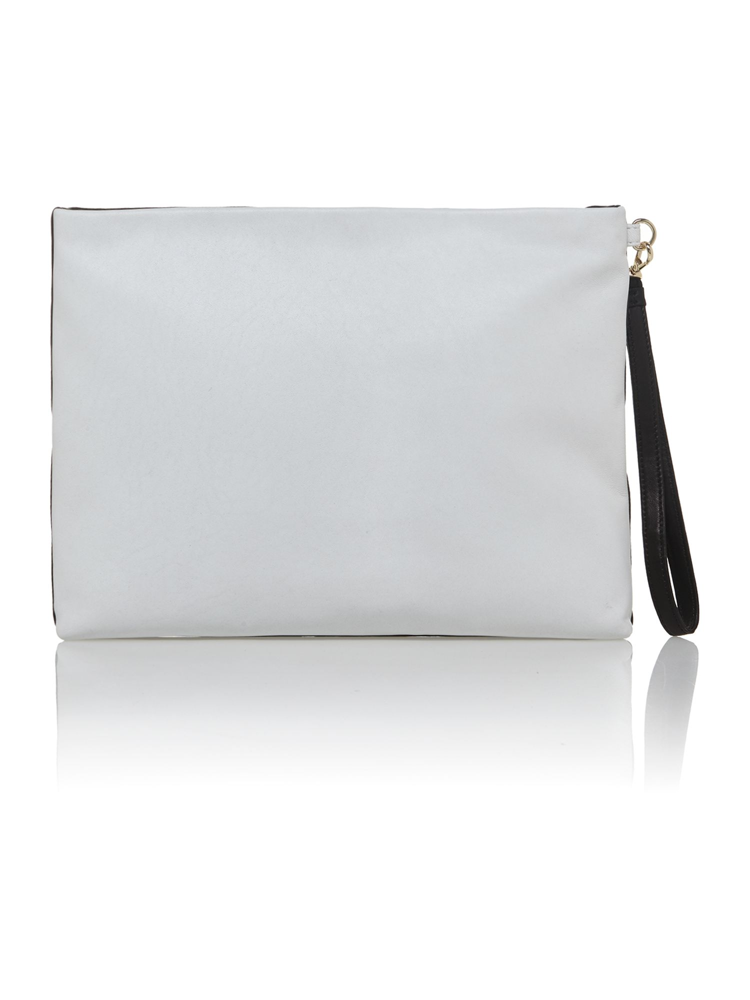 Gansevoort multi-coloured clutch bag