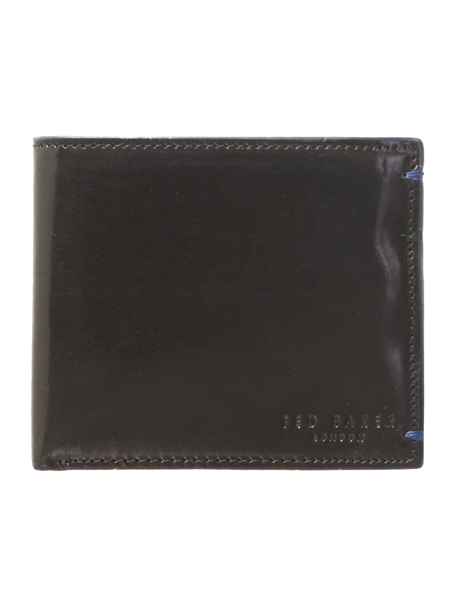 Edge paint billfold wallet