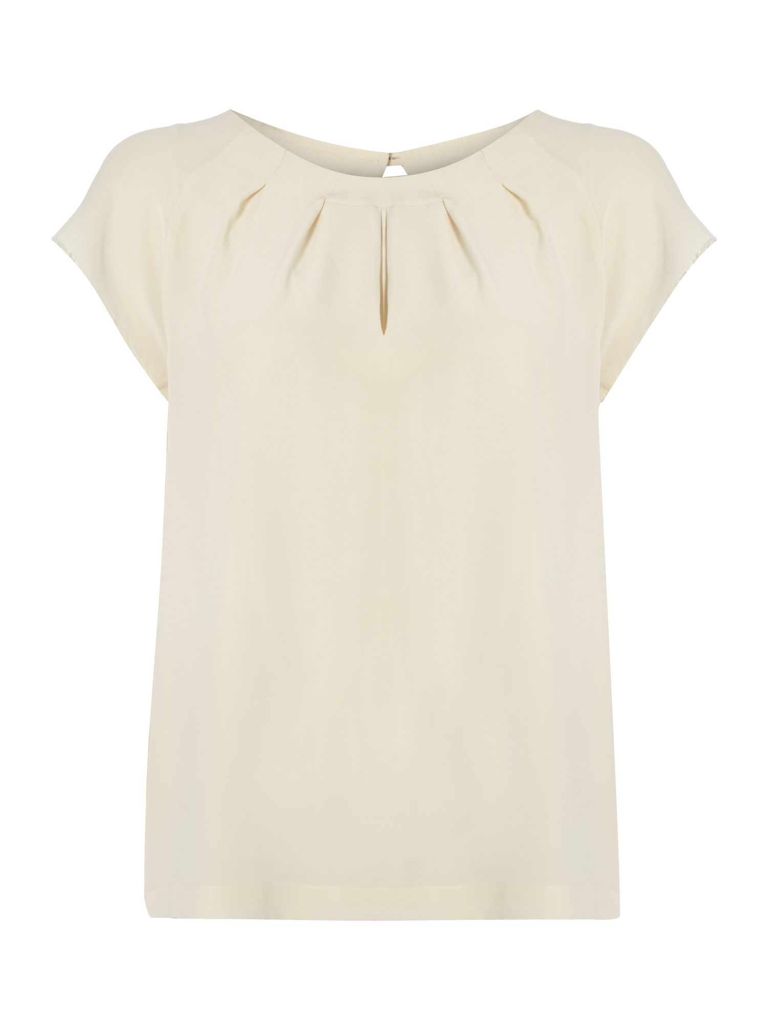 Niagara silk short sleeved top