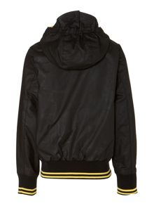 Boy`s Glanton International waxed bomber jacket