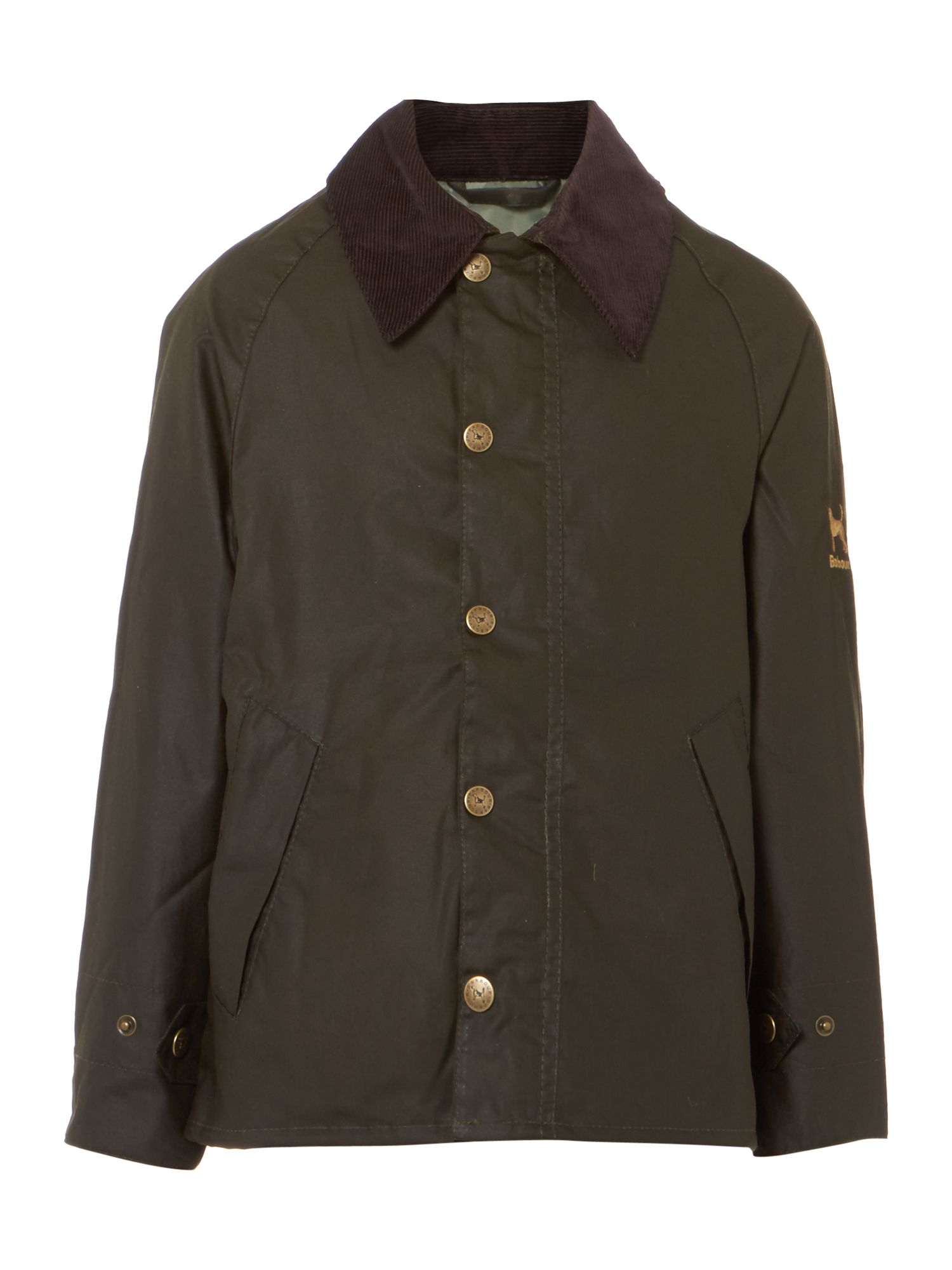 Boys Summer Transport wax jacket
