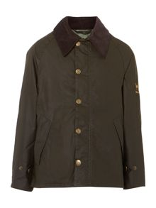 Barbour Boys Summer Transport wax jacket
