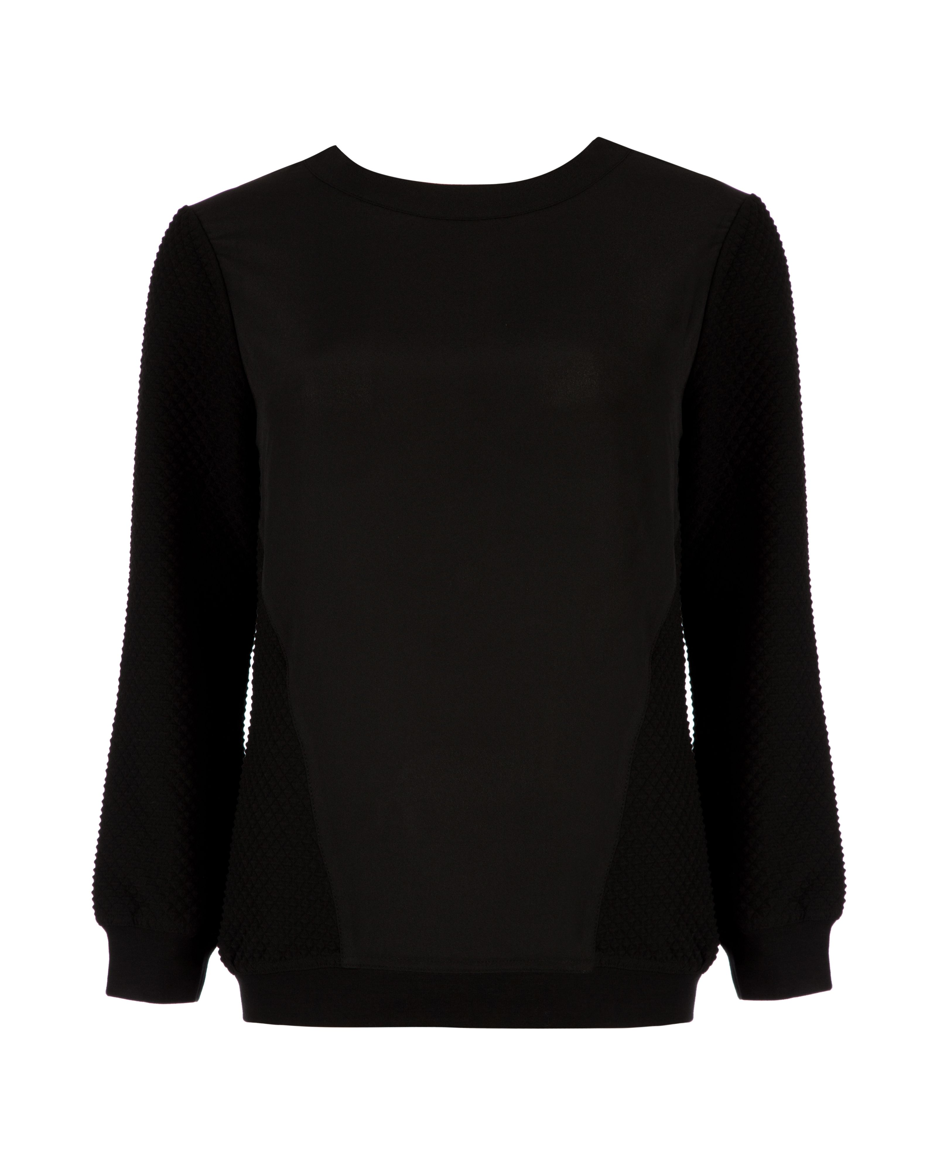 Snowia sporty luxe sweater