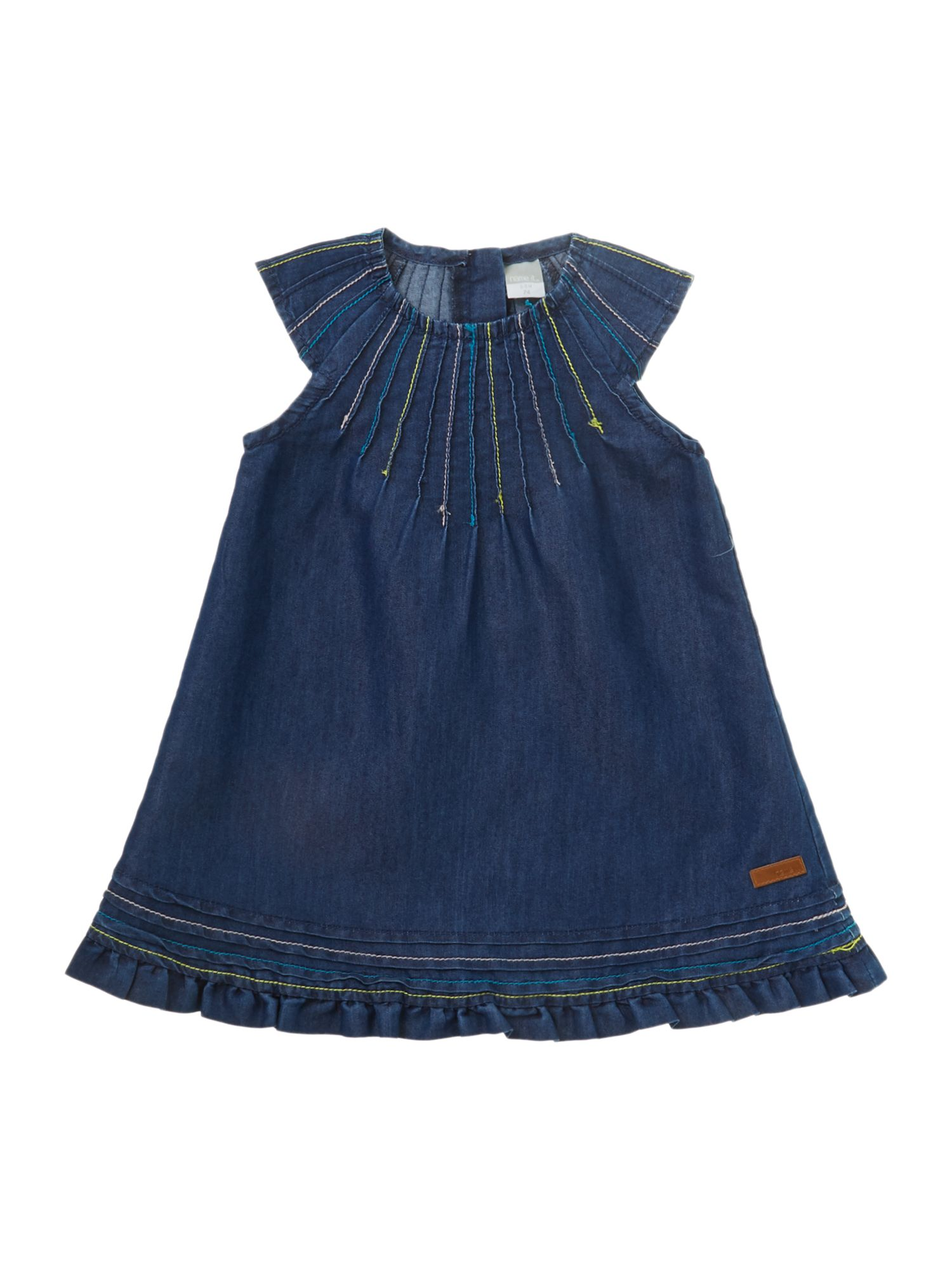 Girls denim mini dress