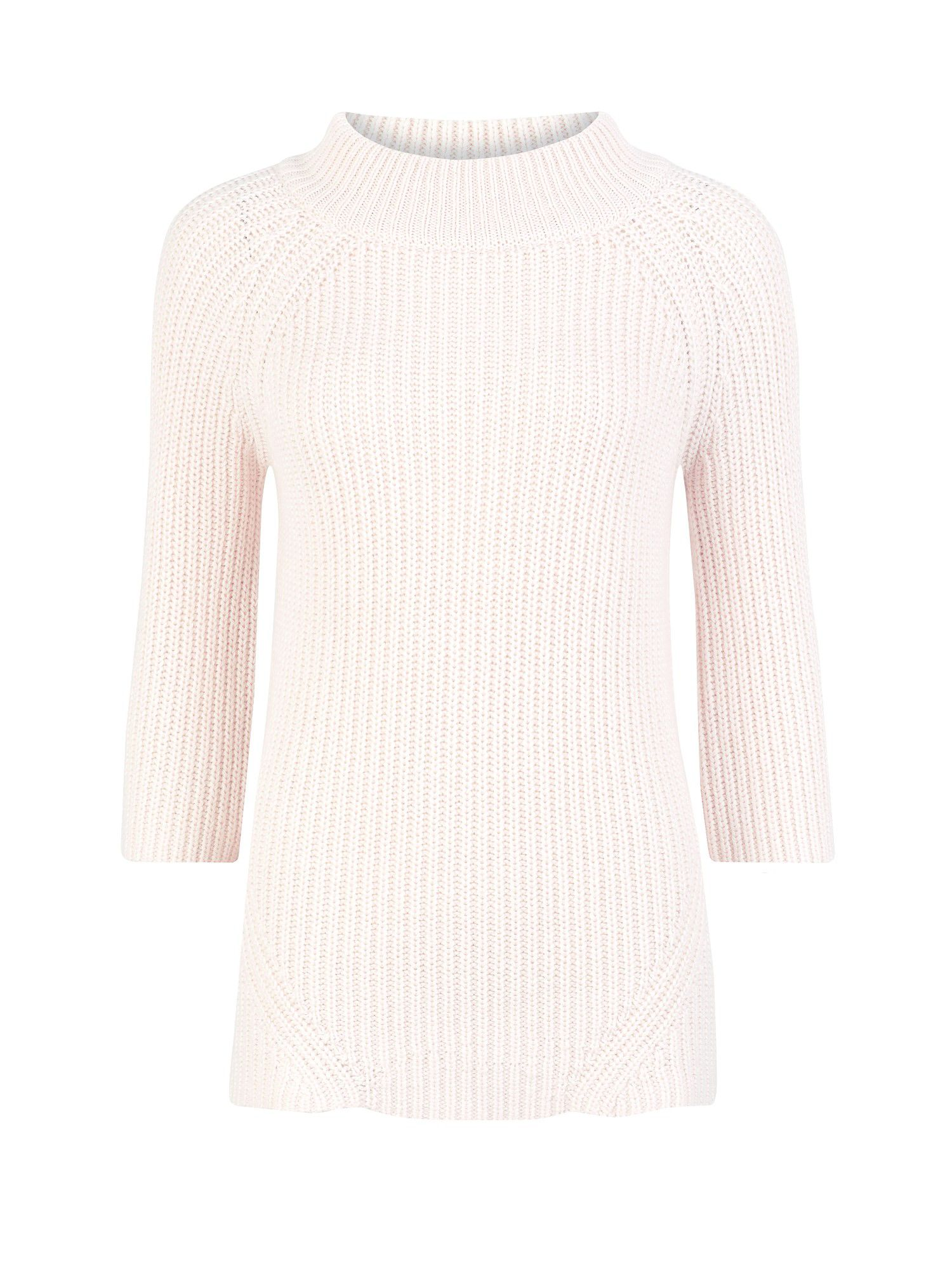 Boat neck swing jumper