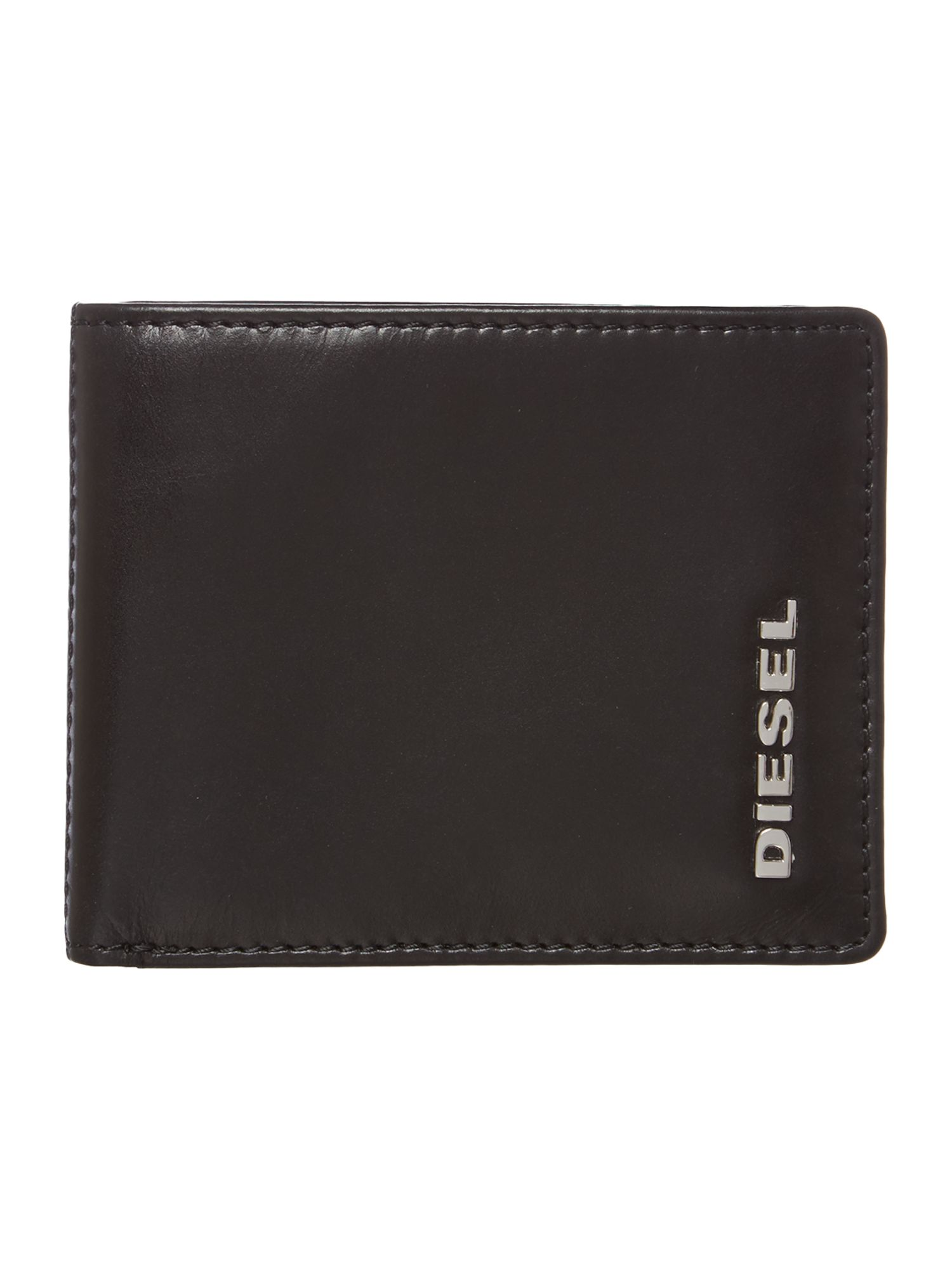 Green interior billfold wallet