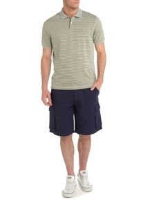 Dillon fine stripe polo